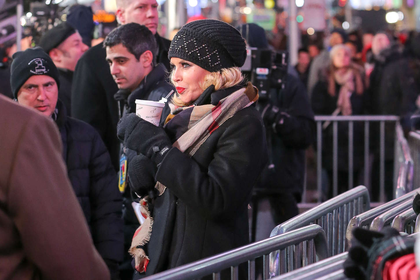Jenny McCarthy Dick Clarks New Years Rockin Eve With Ryan Seacrest Rehearsals in New York