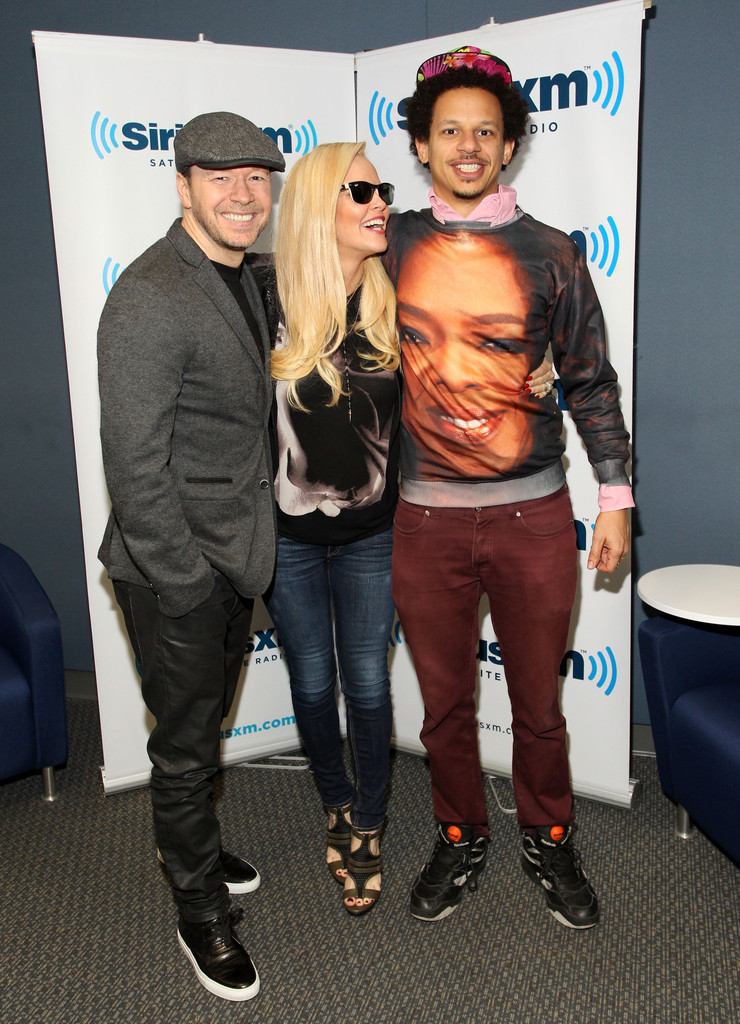 Jenny McCarthy Hosts her SiriusXM Show in Los Angeles