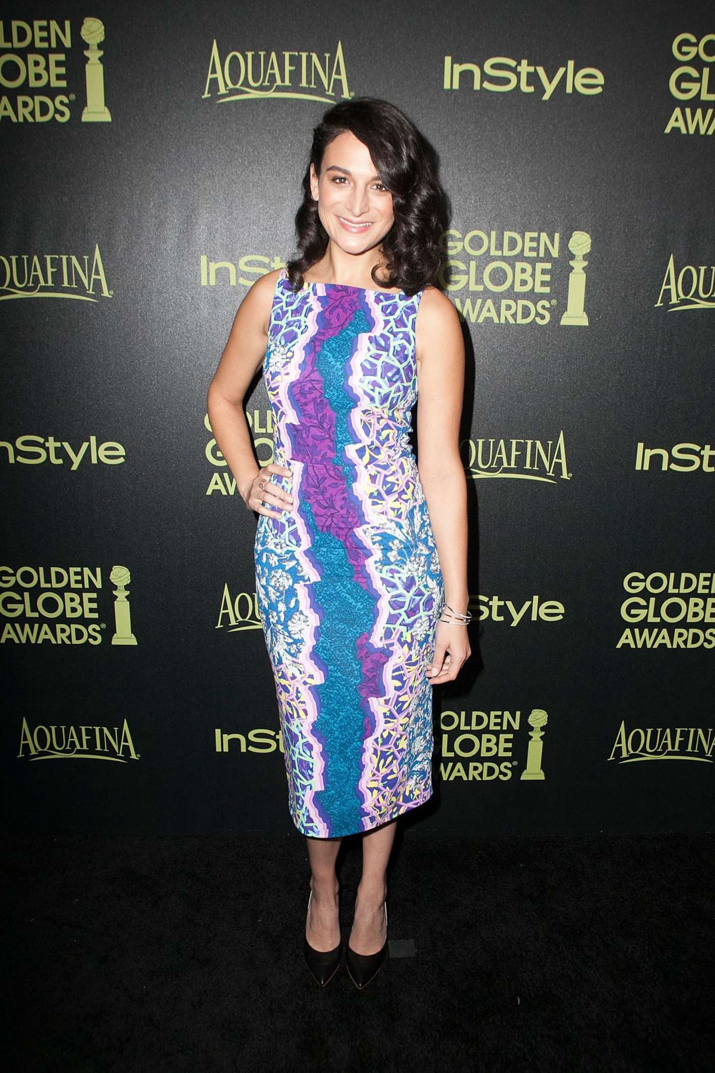 Jenny Slate HFPA InStyle Celebrate Golden Globe Award Season in West Hollywood