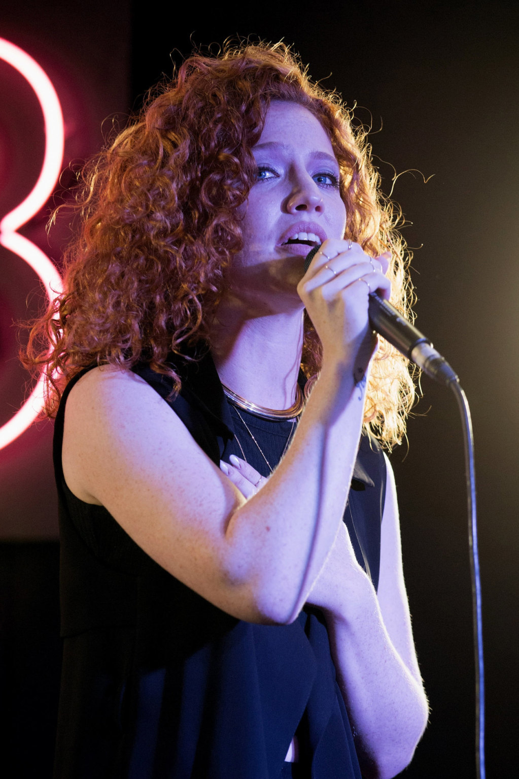 Jess Glynne Album Signing and Gig at HMV in London