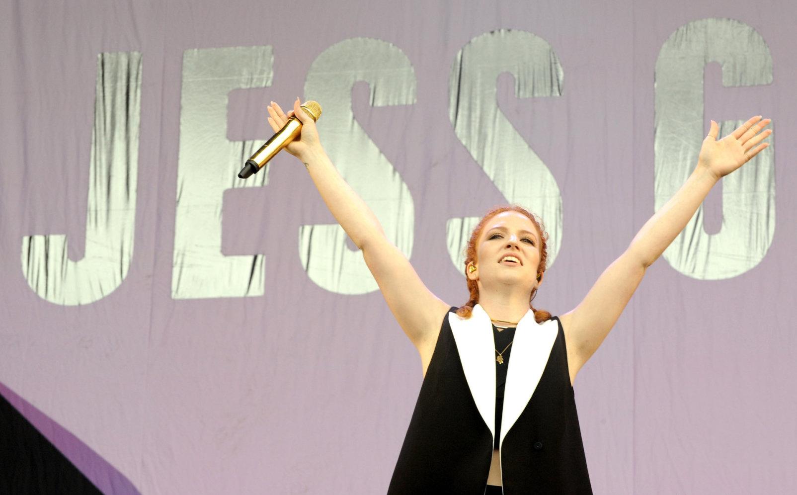 Jess Glynne Performing at V Festival Day at Hylands Park