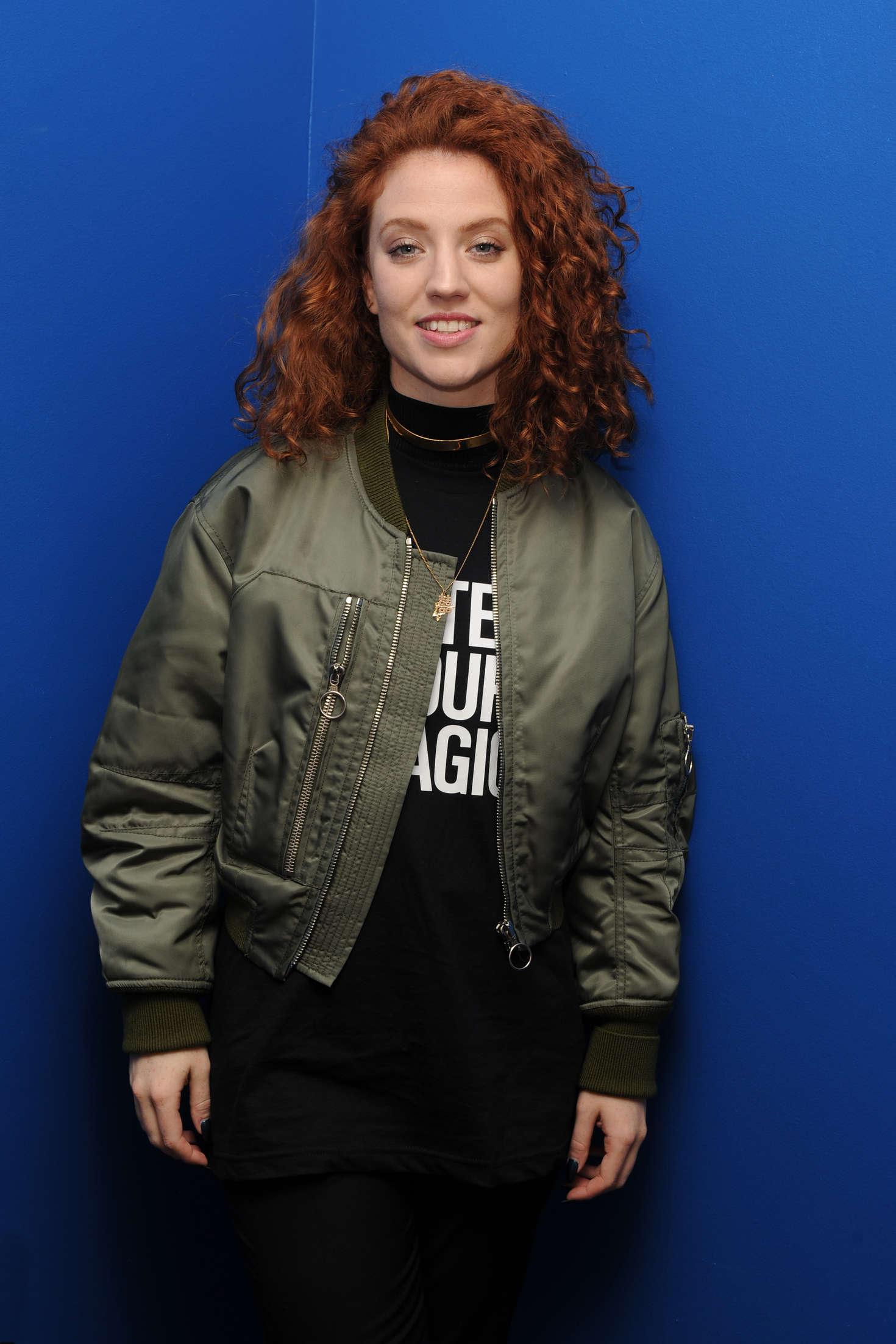 Jess Glynne Portrait at Radio Station Y- in Florida