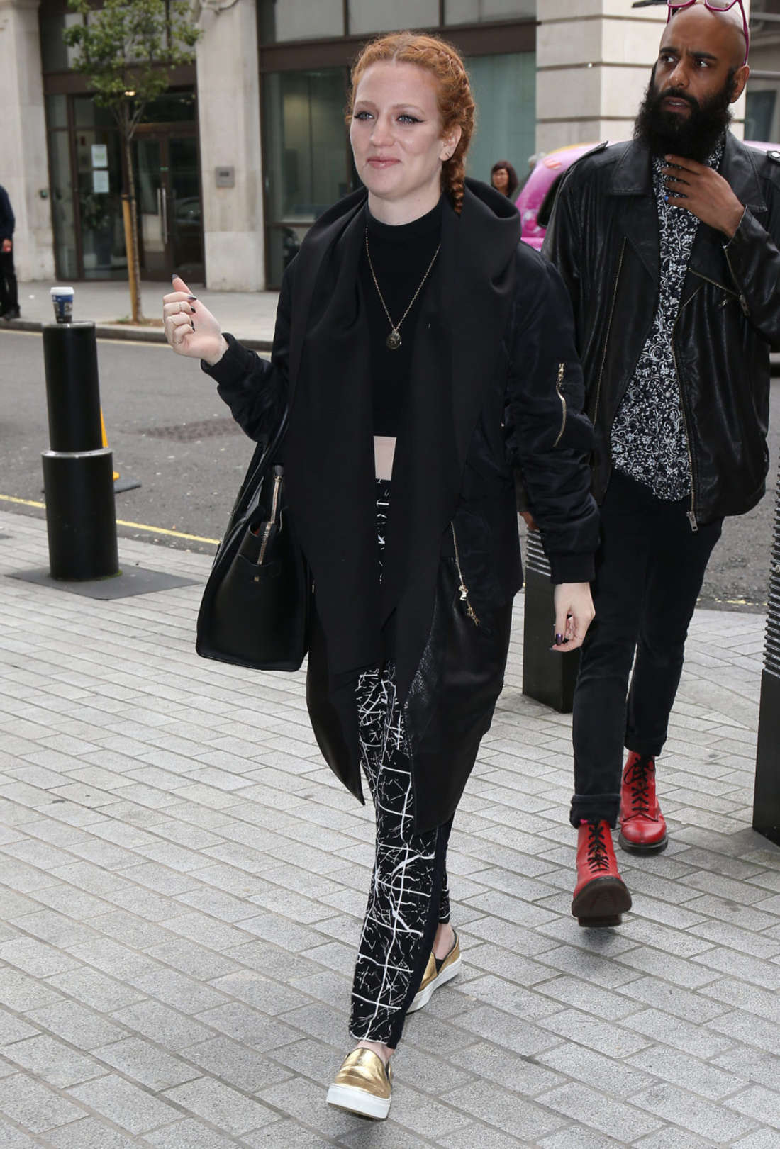 Jess Glynne Seen at BBC Radio One in London