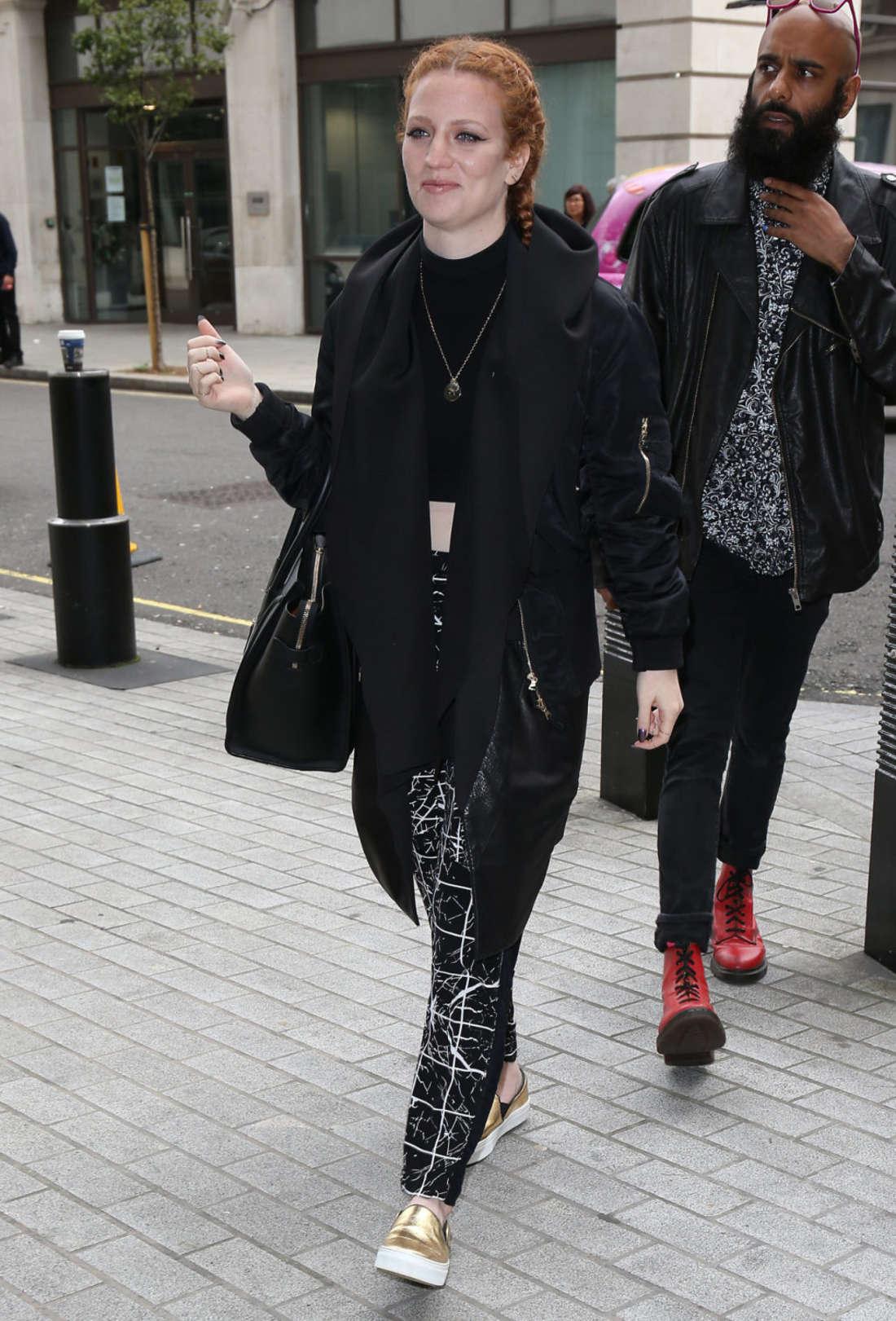 Jess Glynne Seen at BBC Radio One in London