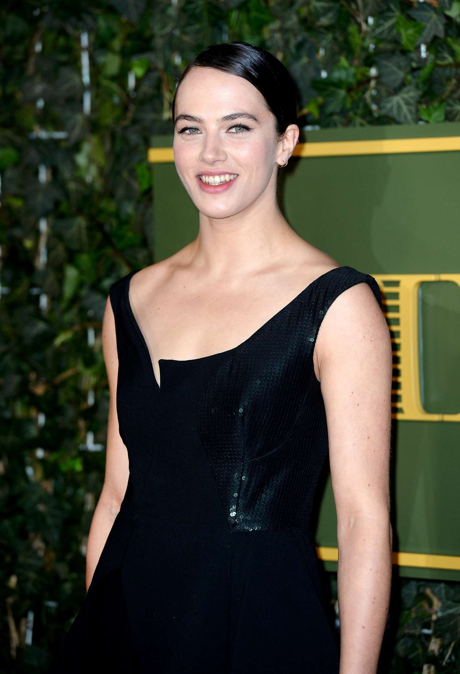 Jessica Brown Findlay Evening Standard Theatre Awards in London