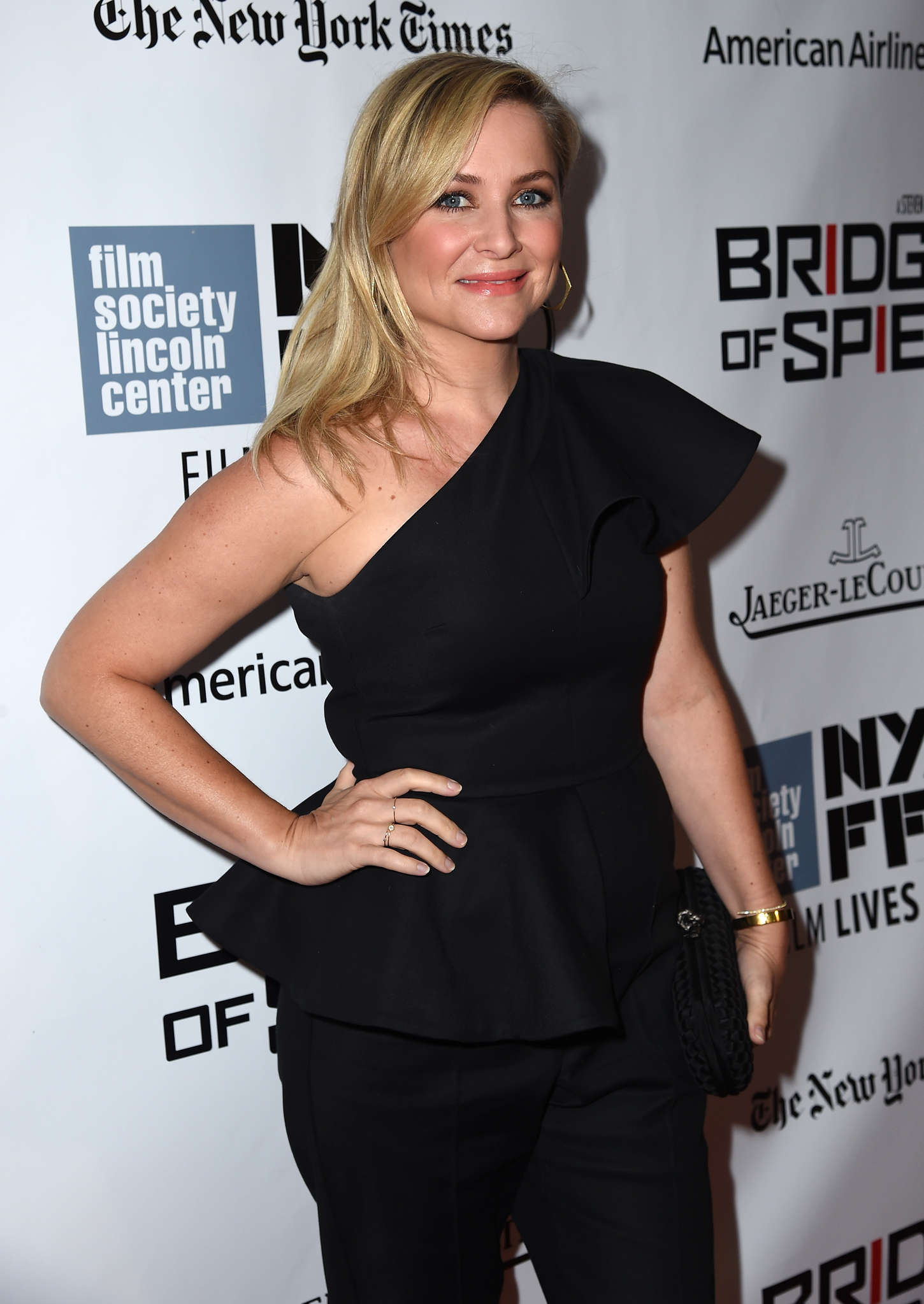 Jessica Capshaw Bridge of Spies Premiere during the New York Film Festival in New York