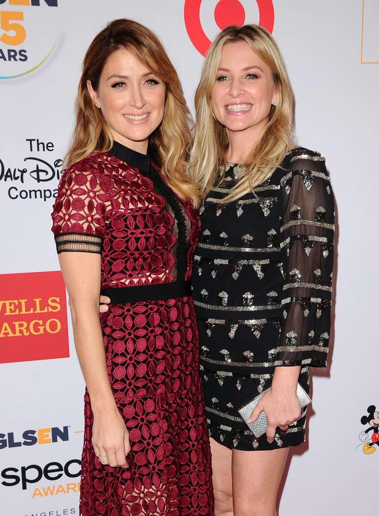 Jessica Capshaw GLSEN Respect Awards in Beverly Hills