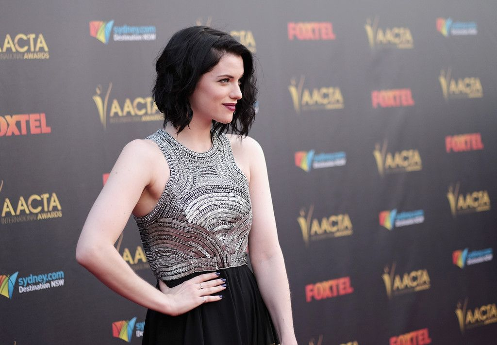 Jessica De Gouw Annual AACTA International Awards in Hollywood