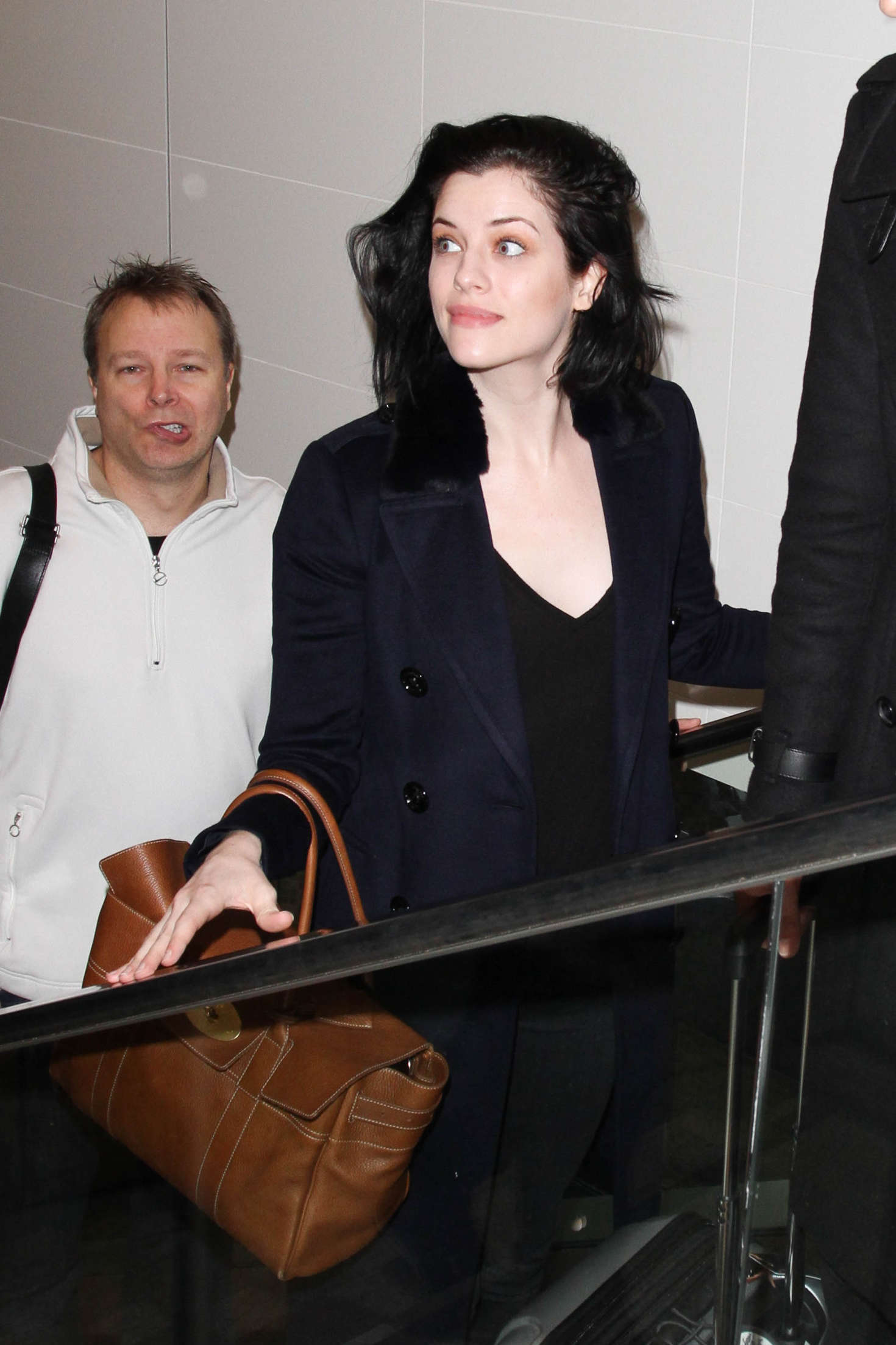 Jessica De Gouw LAX Airport in Los Angeles