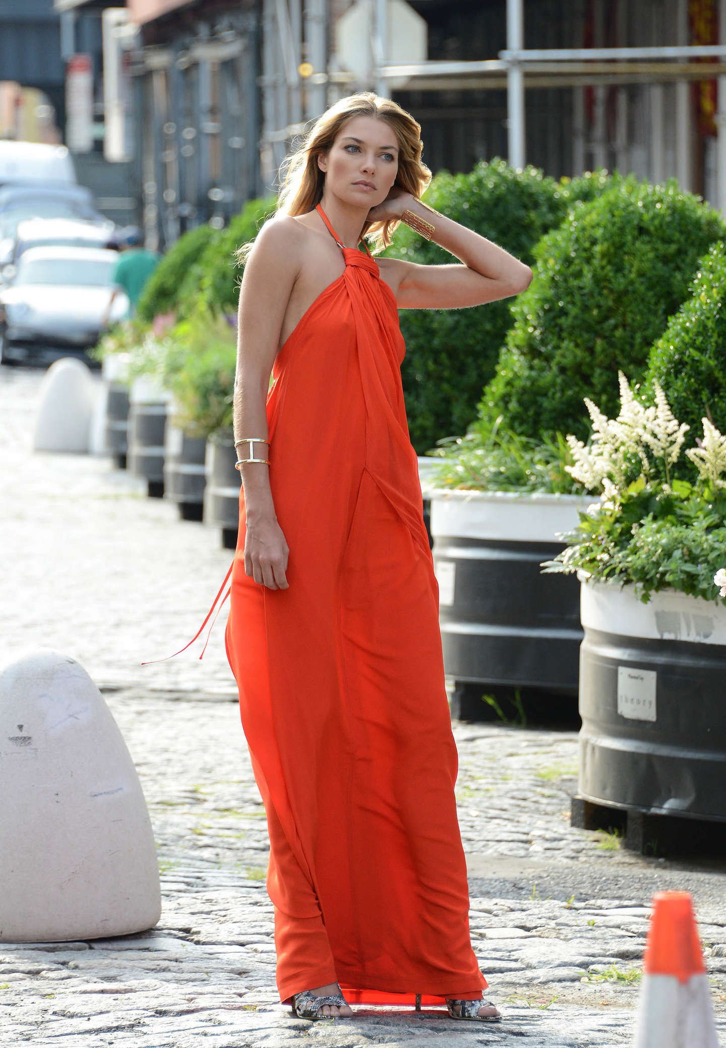 Jessica Hart Photoshoot in New York
