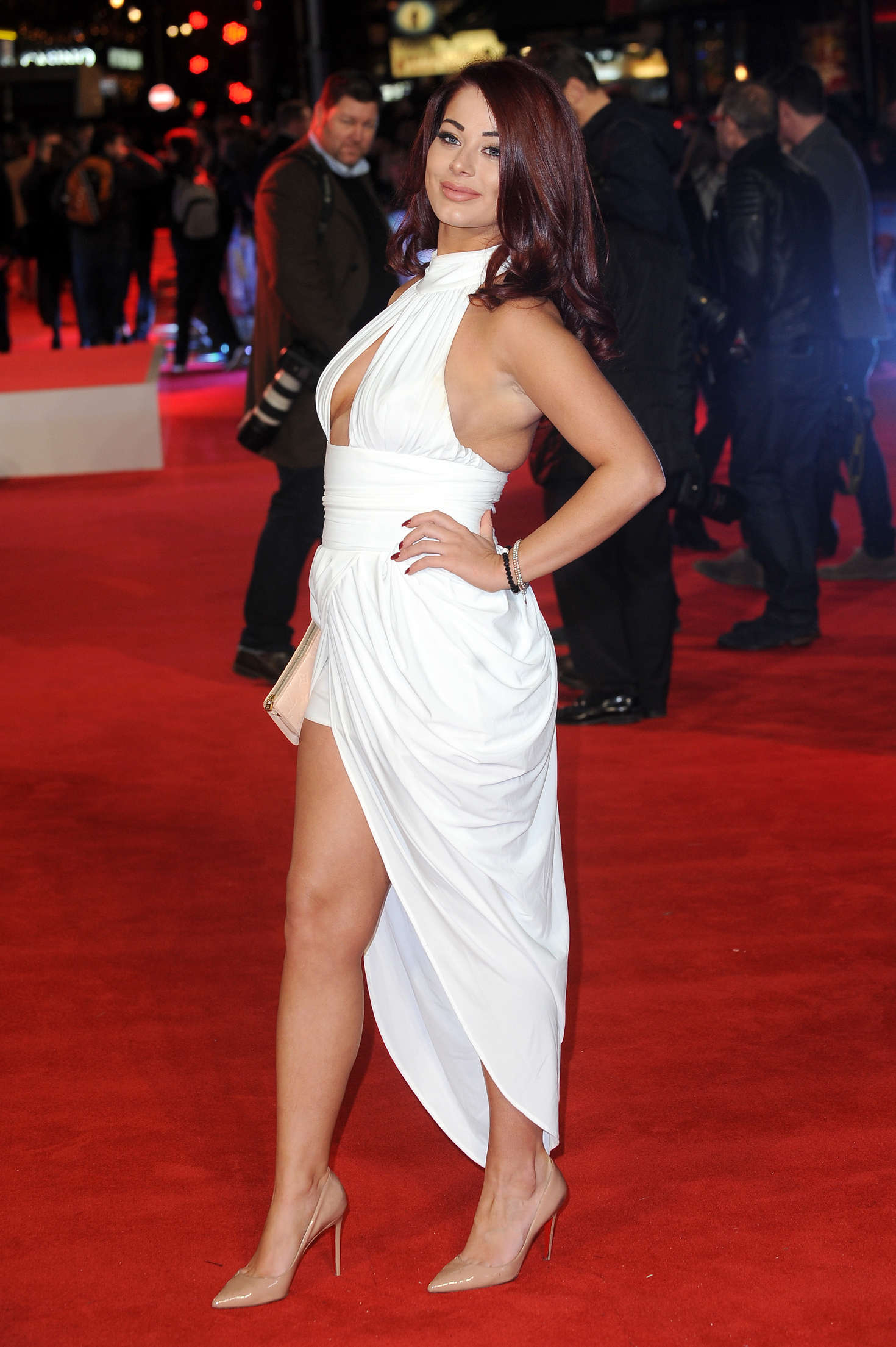 Jessica Hayes Daddys Home Premiere in London