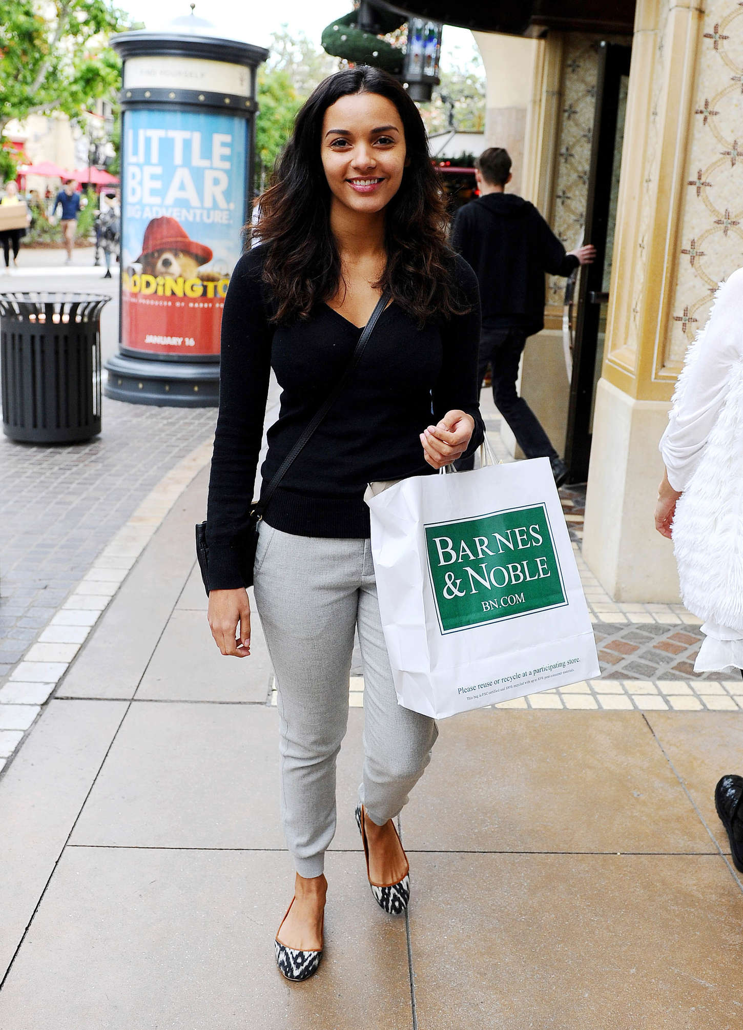 Jessica Lucas at The Grove in West Hollywood