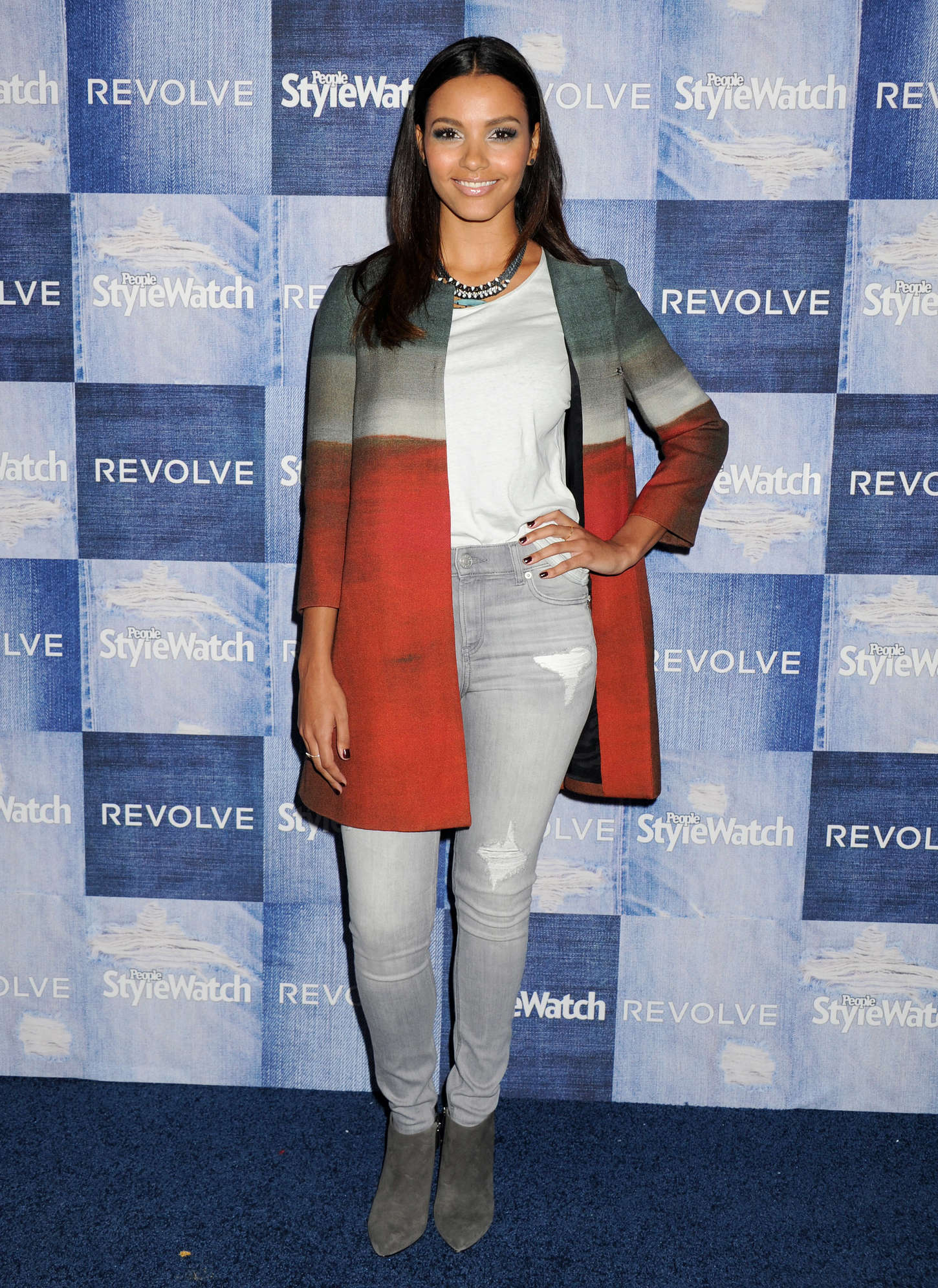 Jessica Lucas People StyleWatch Annual Denim Party in Los Angeles