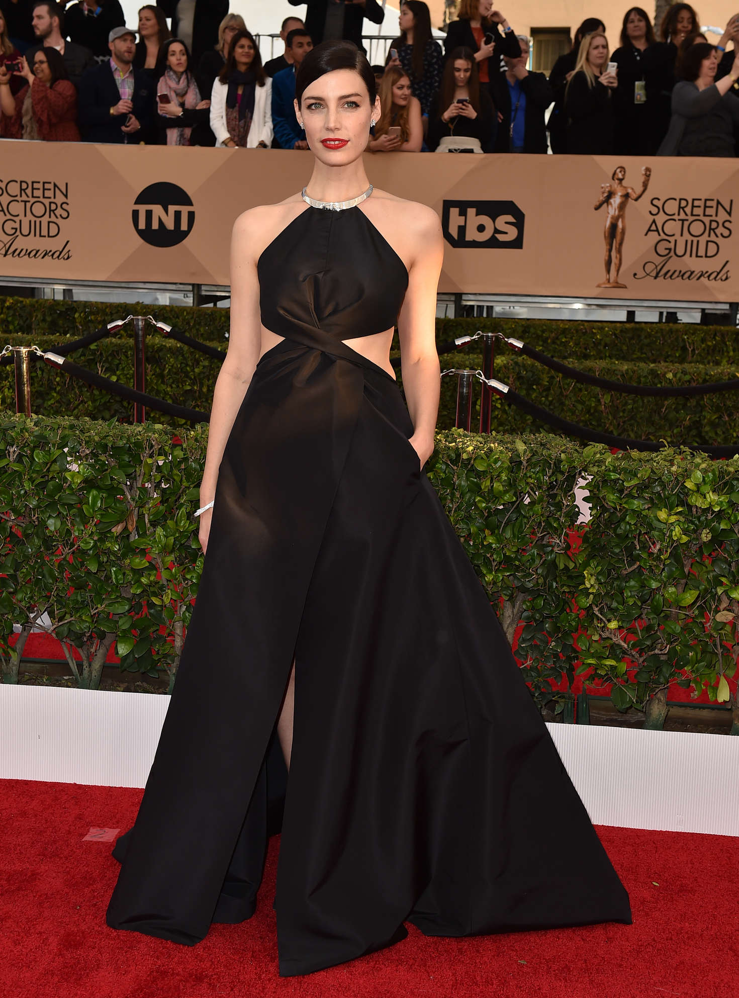Jessica Pare Annual Screen Actors Guild Awards in Los Angeles