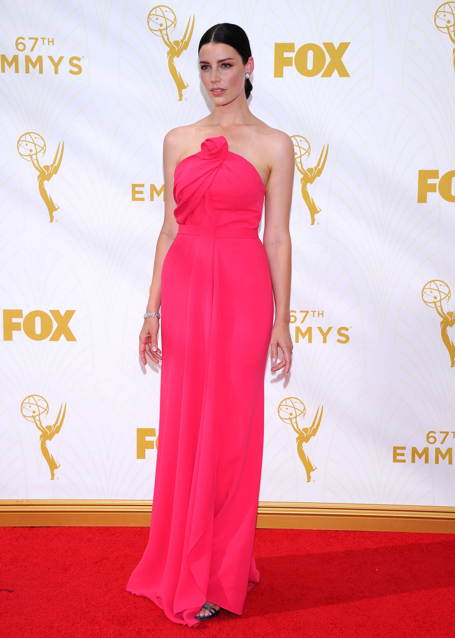 Jessica Pare The Primetime Emmy Awards in Los Angeles