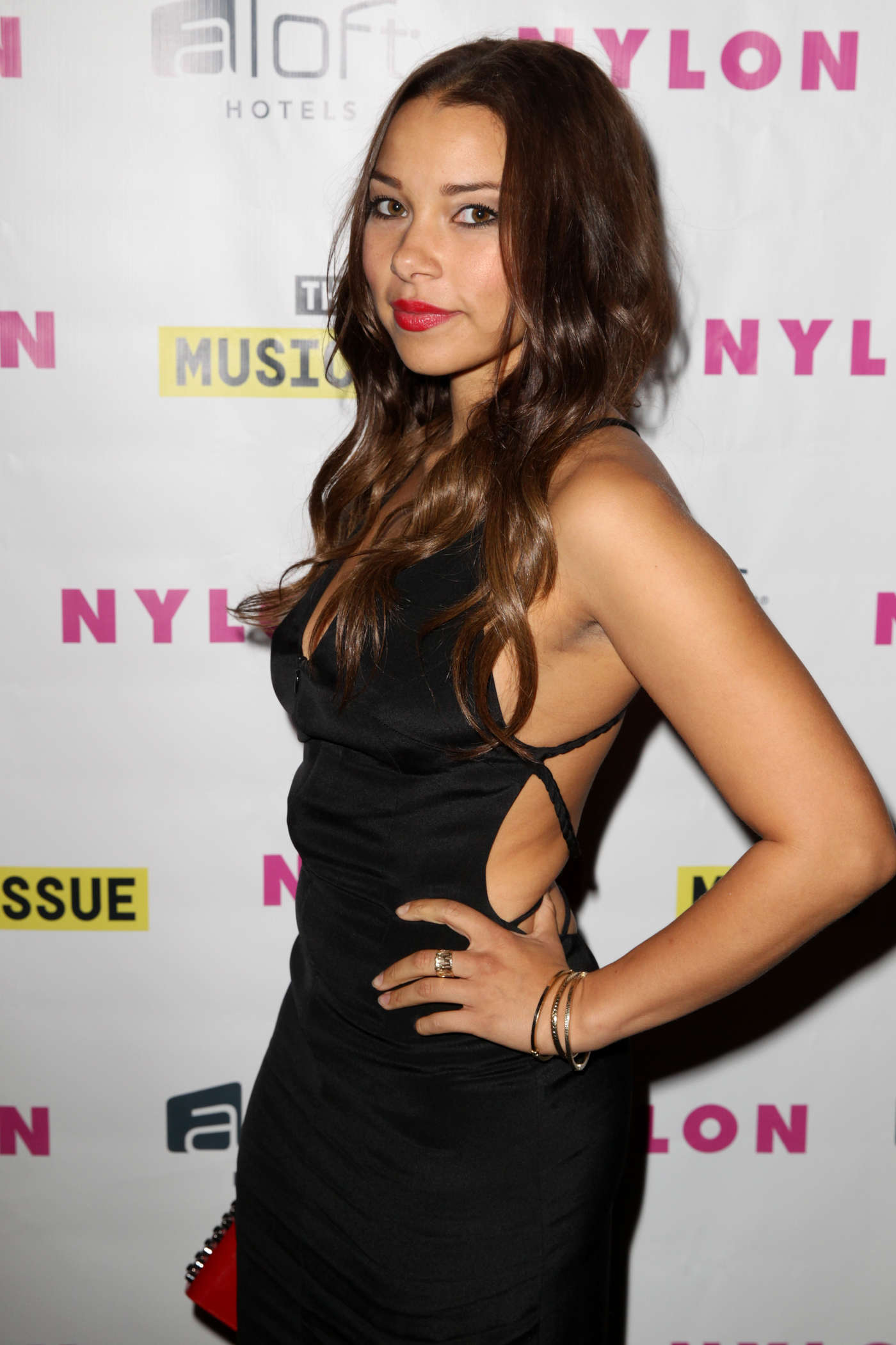 Jessica Parker Kennedy Nylon Magazine Music Issue Party in Los Angeles