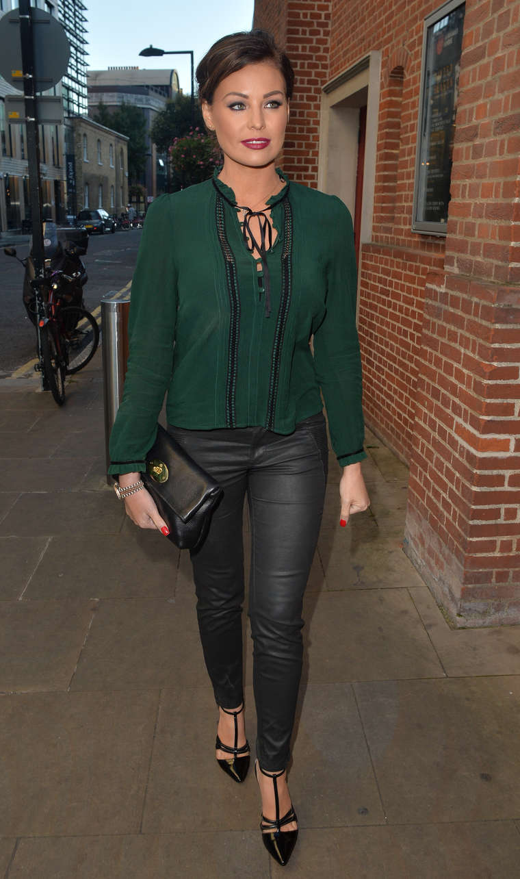 Jessica Wright at the Globe Theatre in London