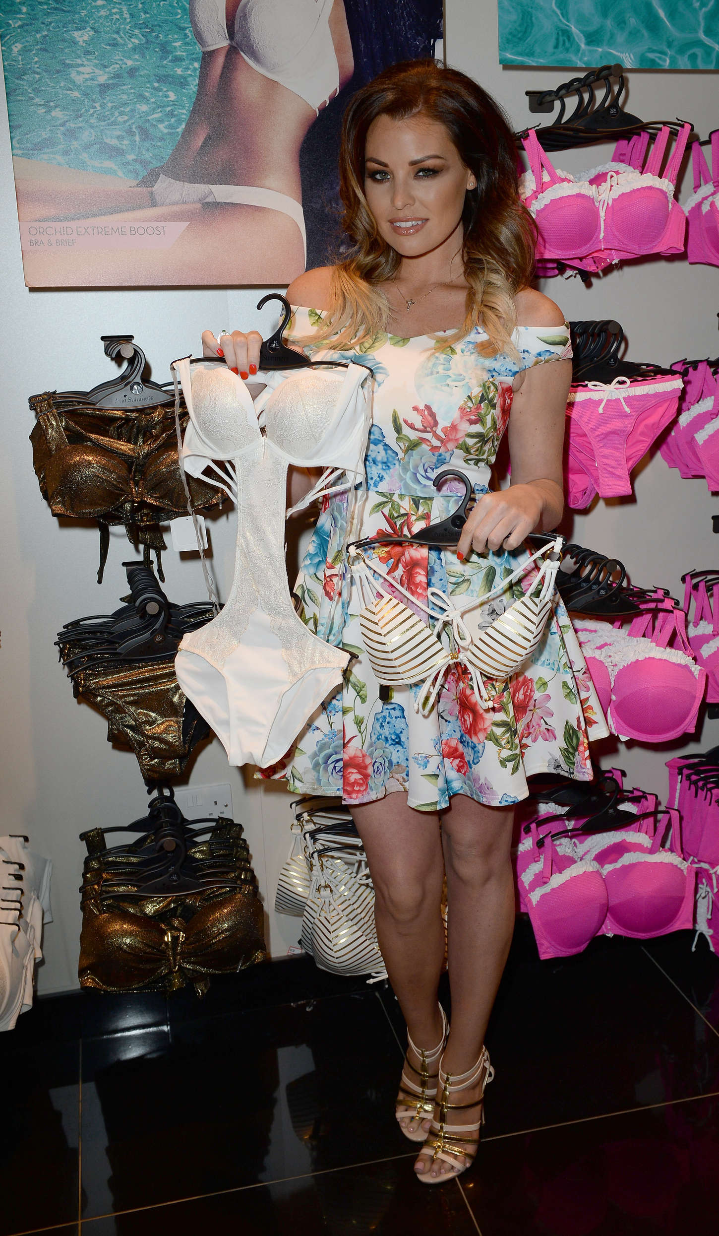Jessica Wright Launches Her New Bikini Range in Manchester
