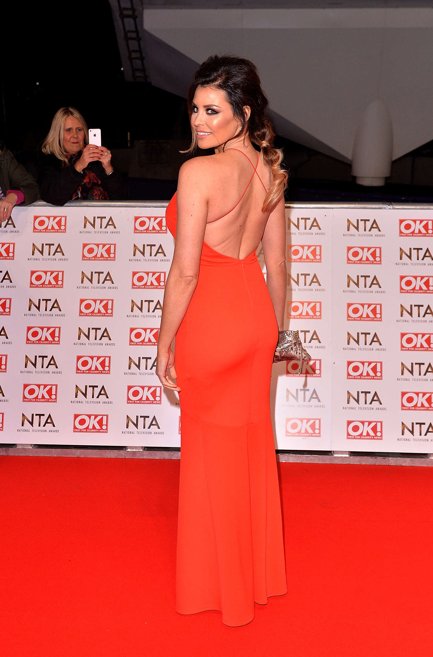 Jessica Wright National Television Awards in London