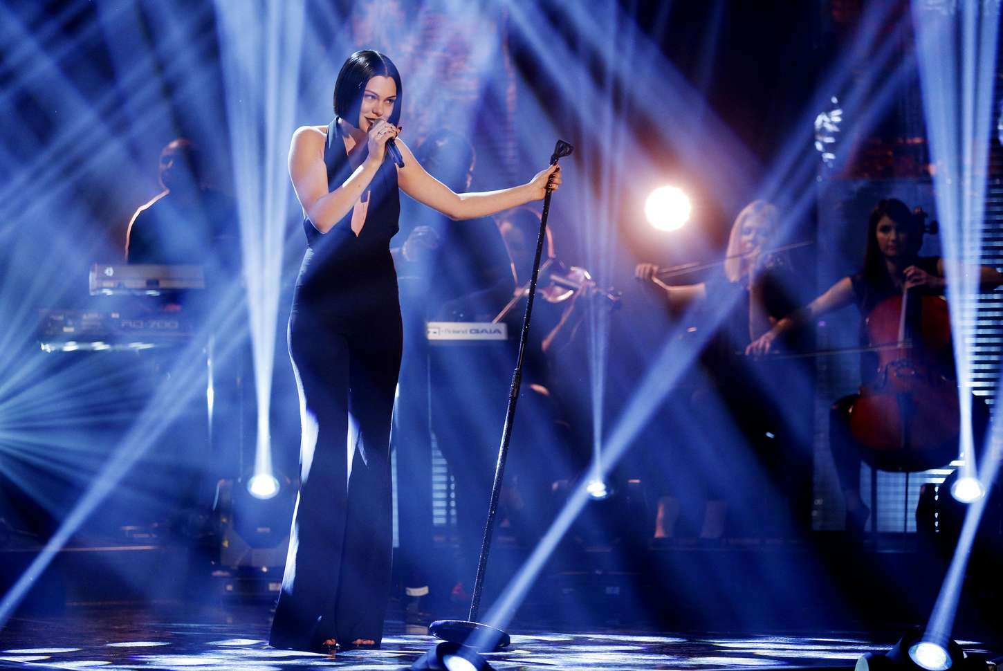 Jessie J Performing on The Graham Norton Show in London