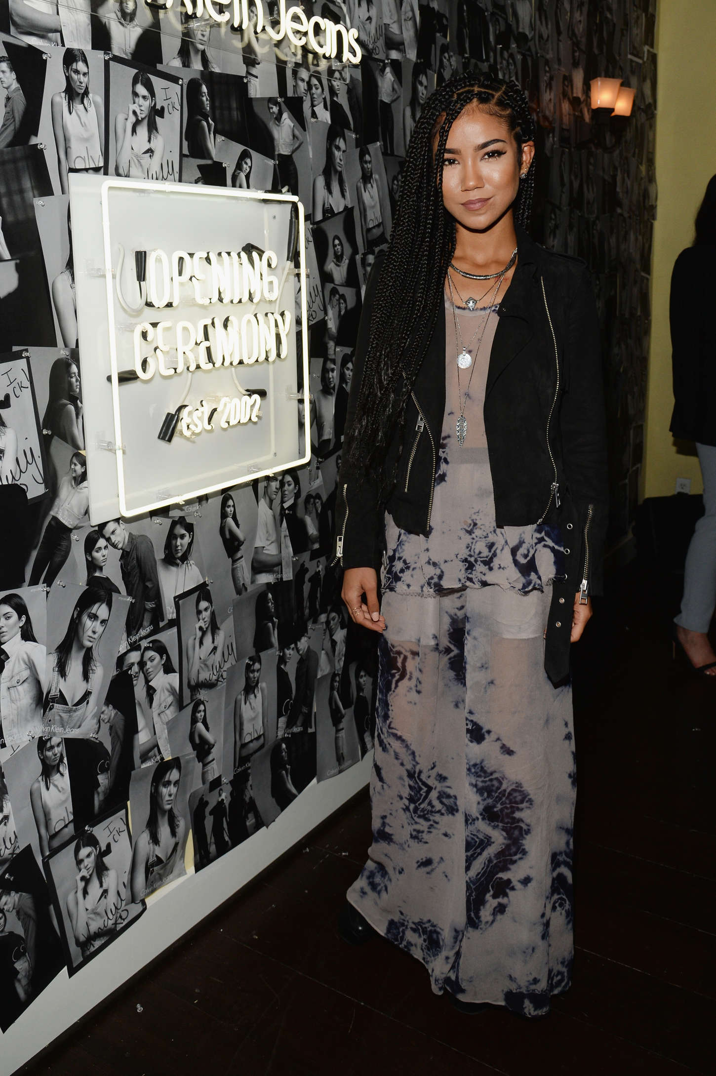 Jhene Aiko Opening Ceremony Calvin Klein Jeans Denim Series Celebration Launch in Los Angeles