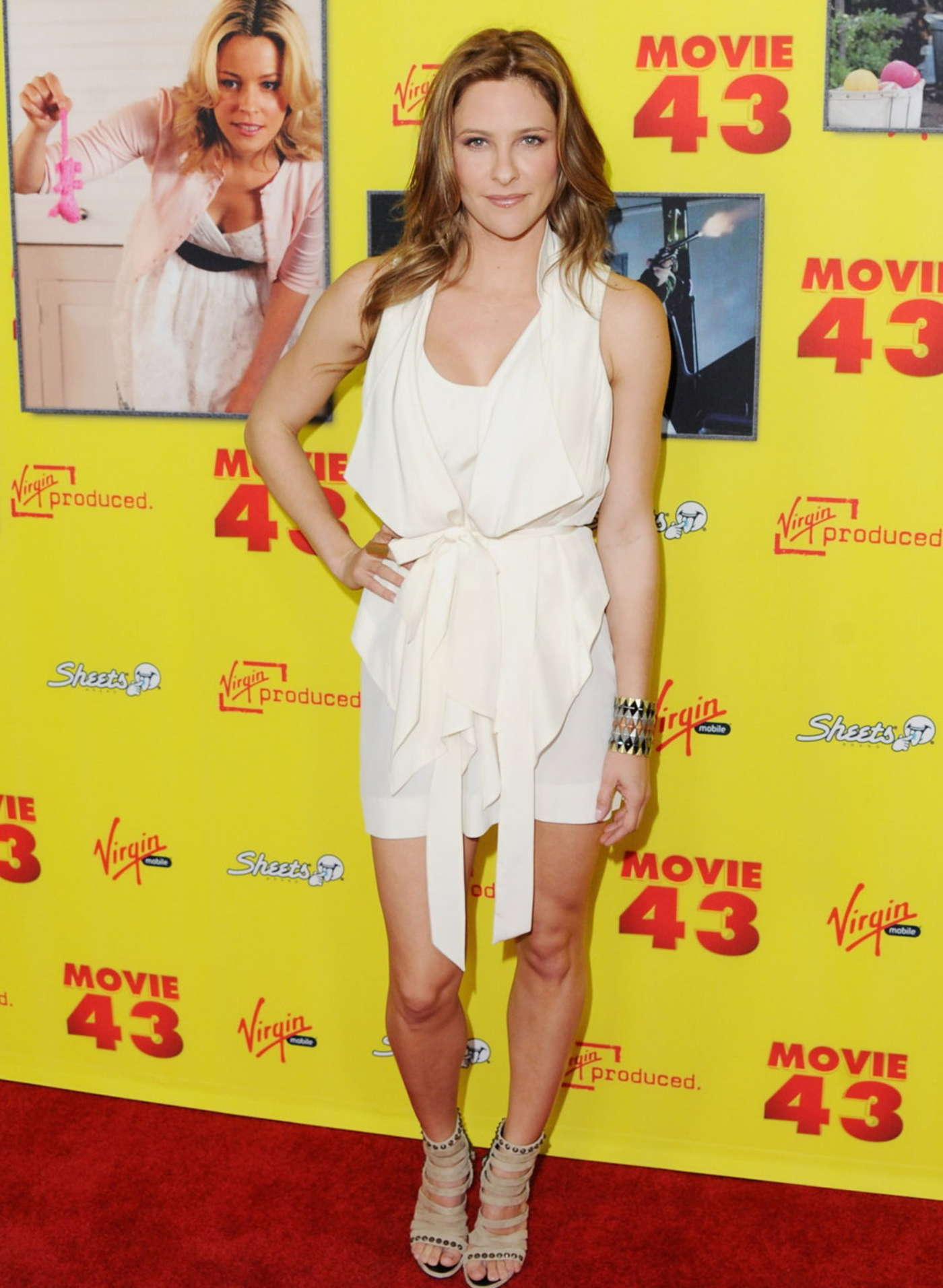 Jill Wagner Movie Premiere in Los Angeles