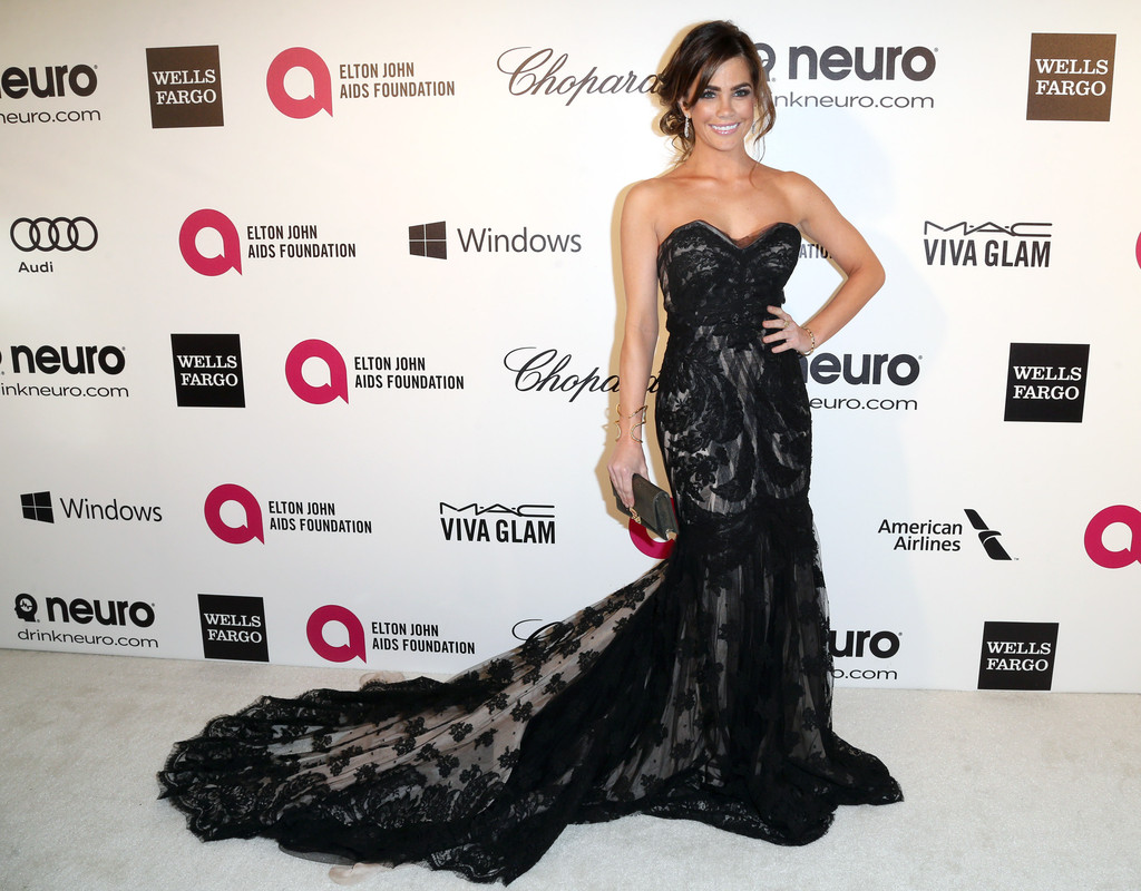 Jillian Murray Oscars Elton John AIDS Foundation Academy Awards Party