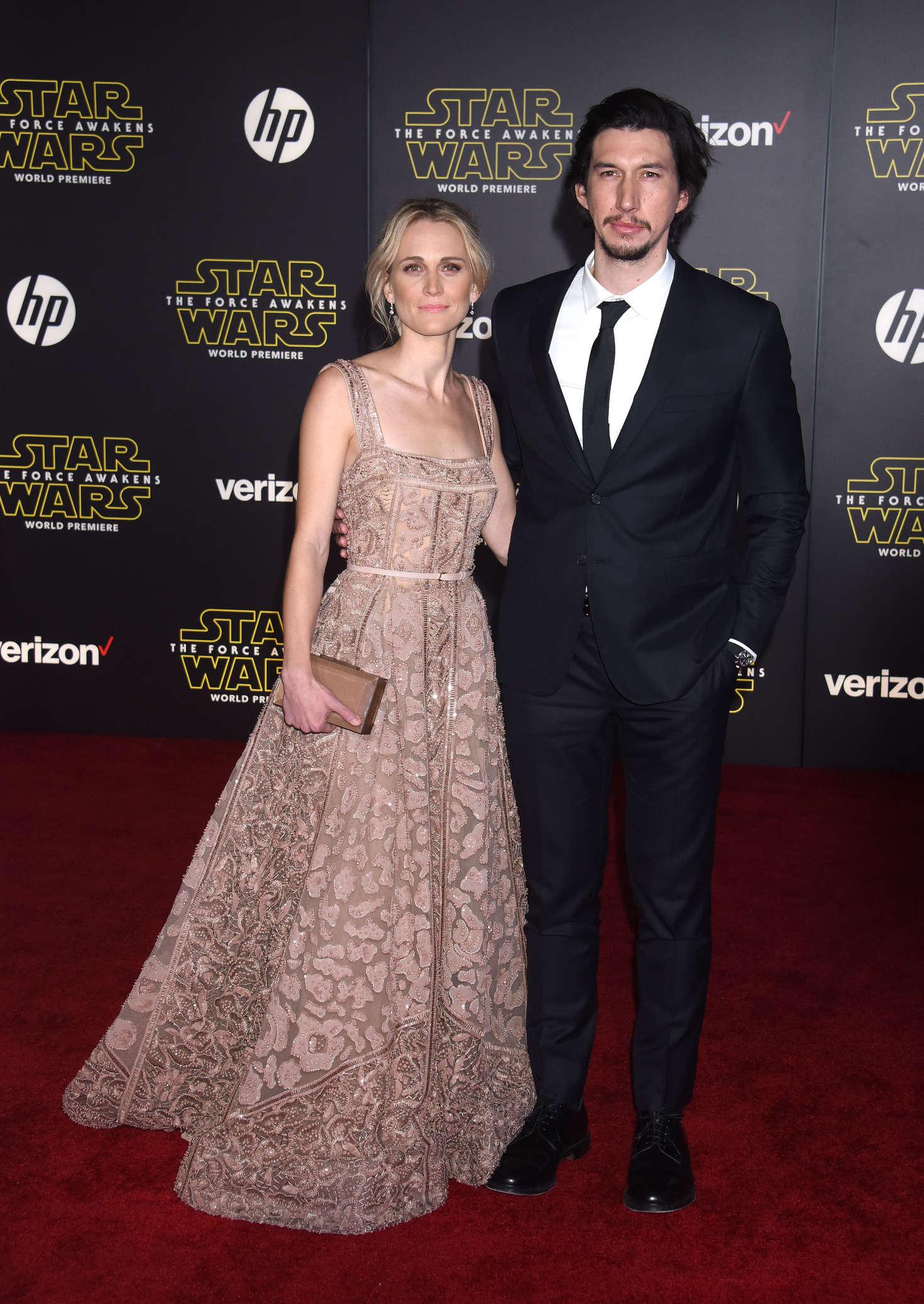 Joanne Tucker Star Wars The Force Awakens Premiere in Hollywood-1