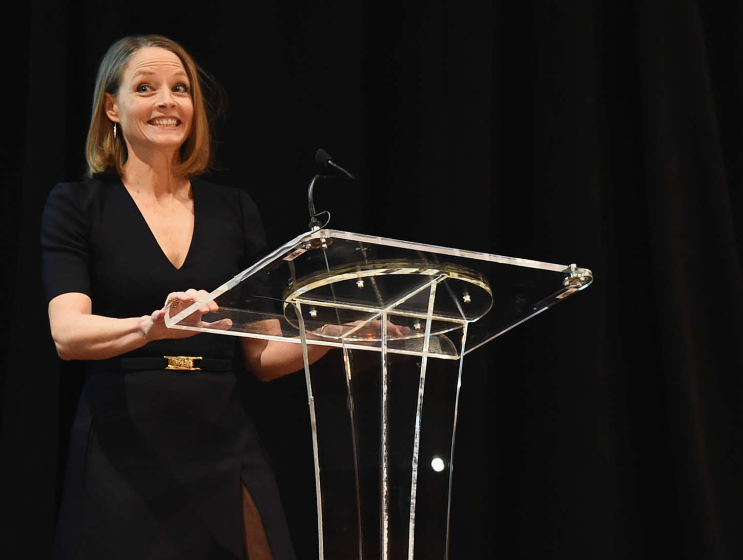 Jodie Foster Athena Film Festival Opening Night in New York