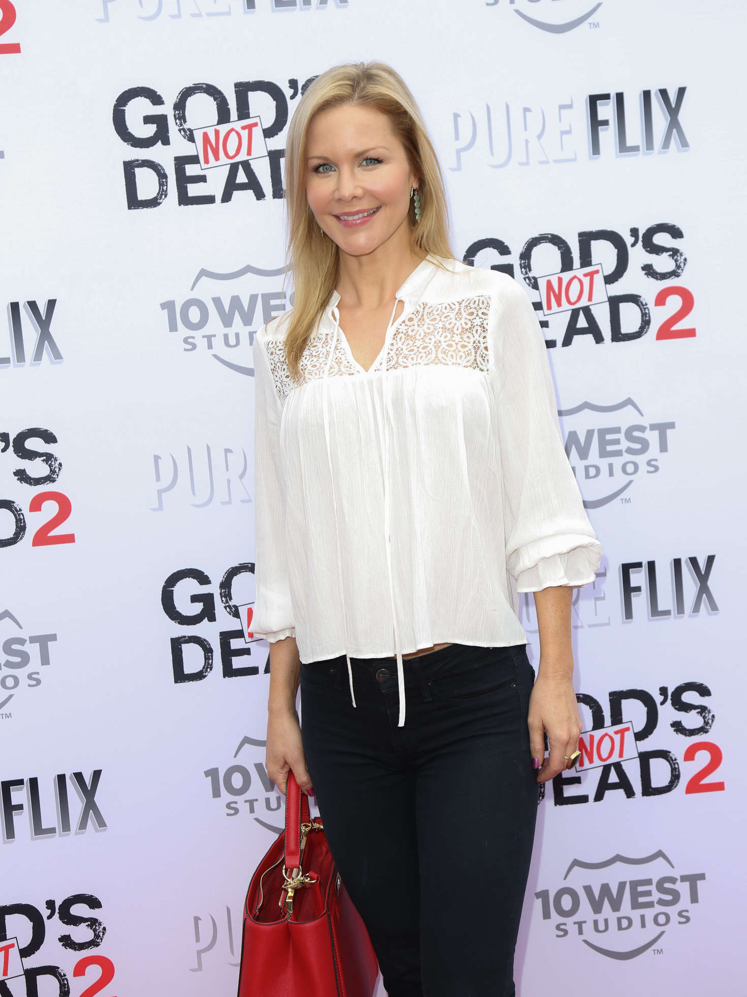 Josie Davis Gods Not Dead Premiere in Los Angeles