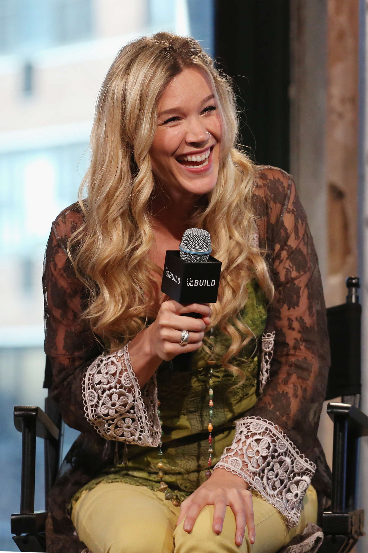 Joss Stone AOL Build Presents Water for Your Soul in New York City