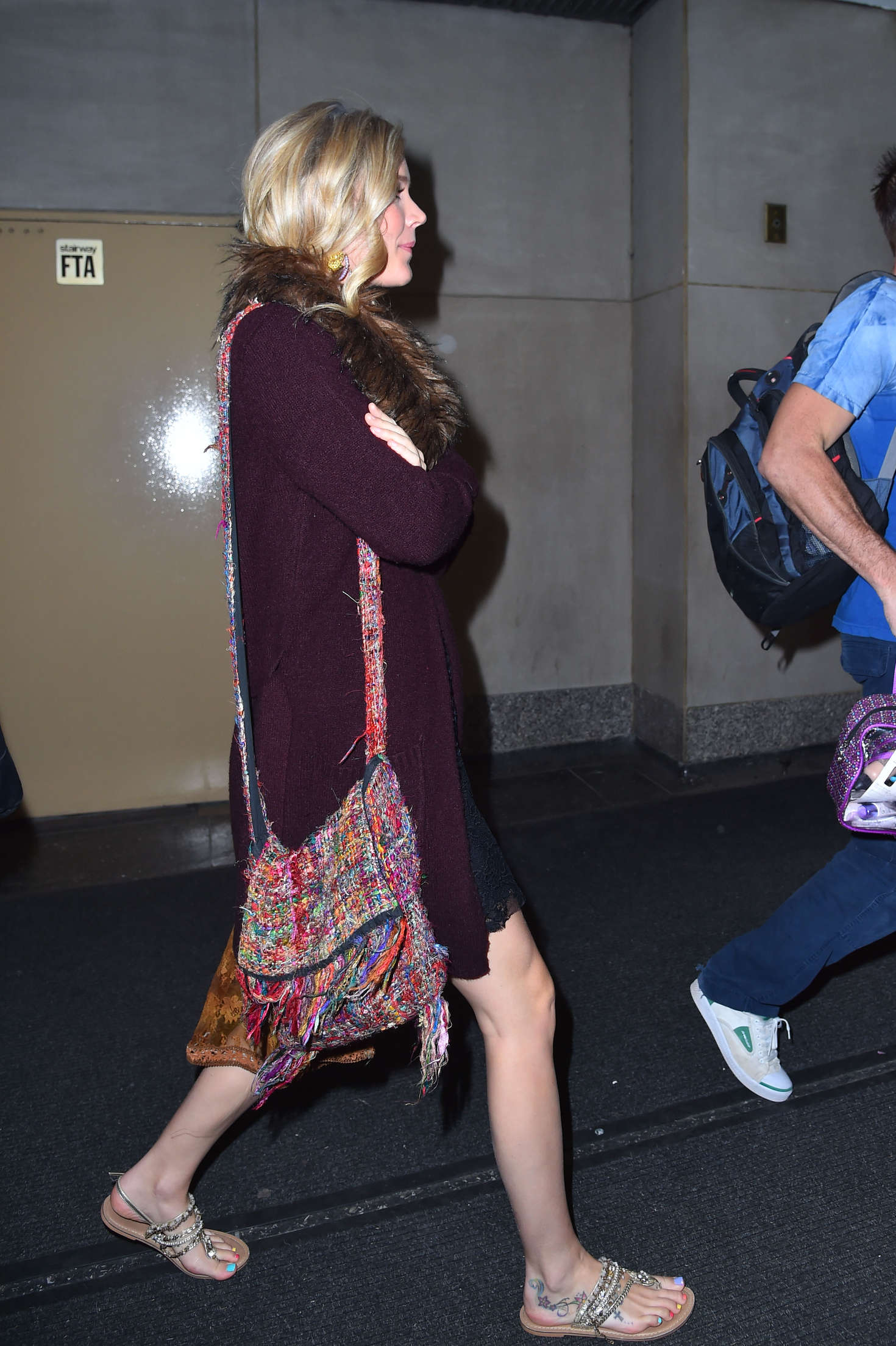 Joss Stone Arrives at the Today Show in New York