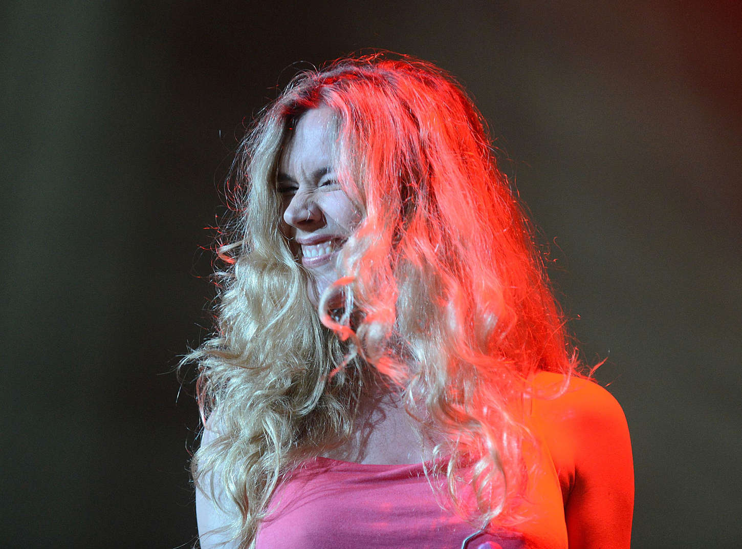 Joss Stone Performing at a Concert at Carnival City in Johannesburg
