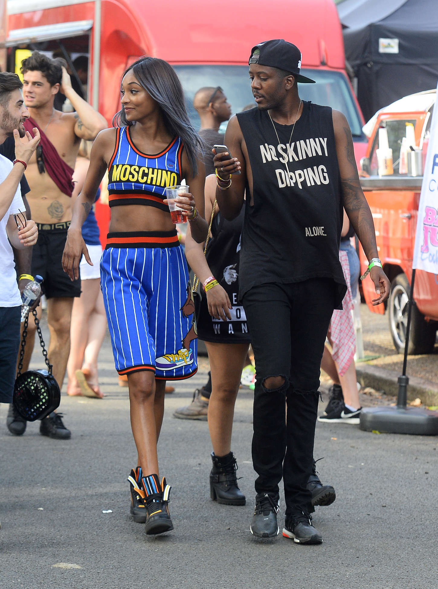 Jourdan Dunn New Look Wireless Festival in London