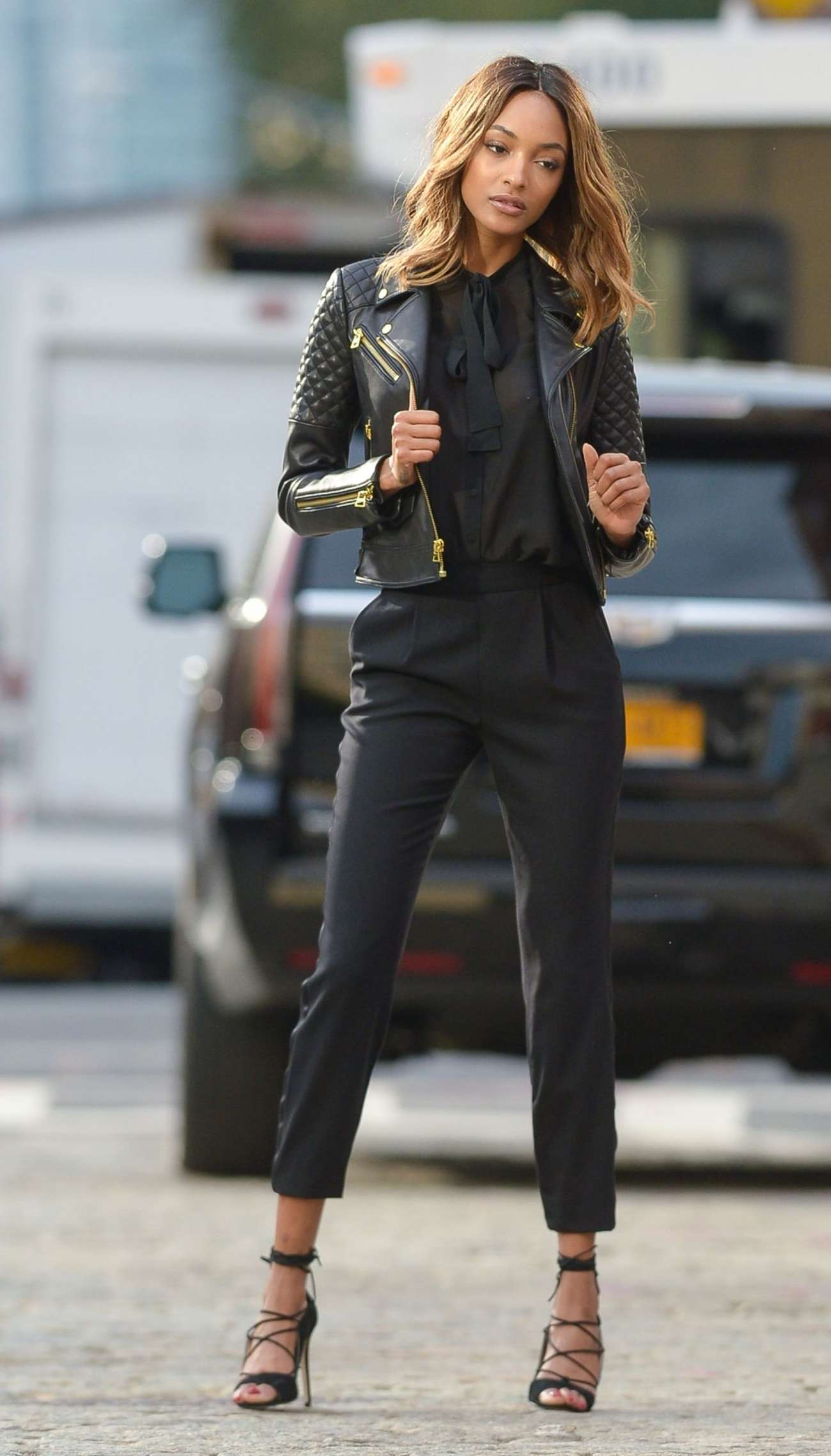 Jourdan Dunn Photoshoot in New York