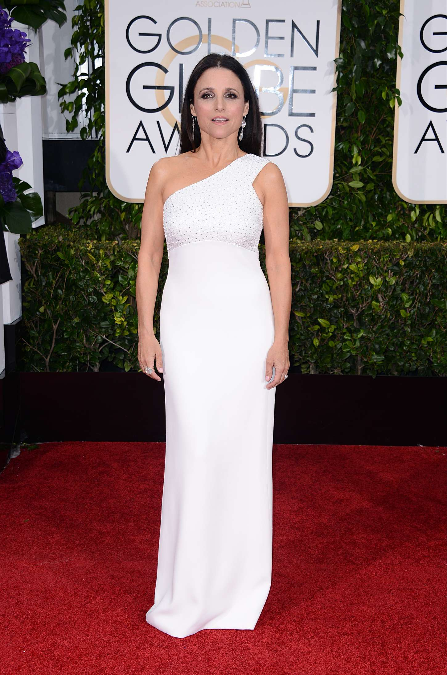 Julia Louis Dreyfus Annual Golden Globe Awards in Beverly Hills
