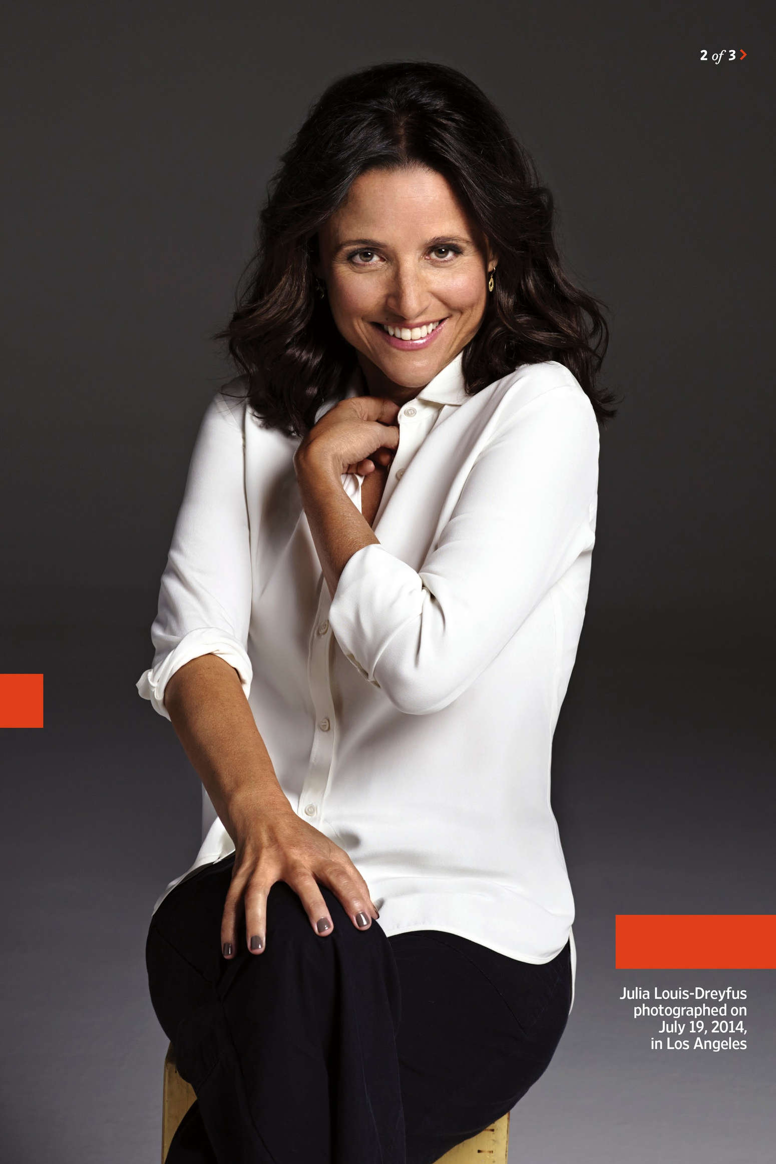 Julia Louis-Dreyfus Entertainment Weekly Magazine