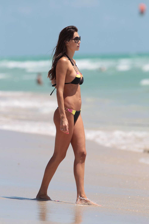 Julia Pereira Bikini Candids in Miami