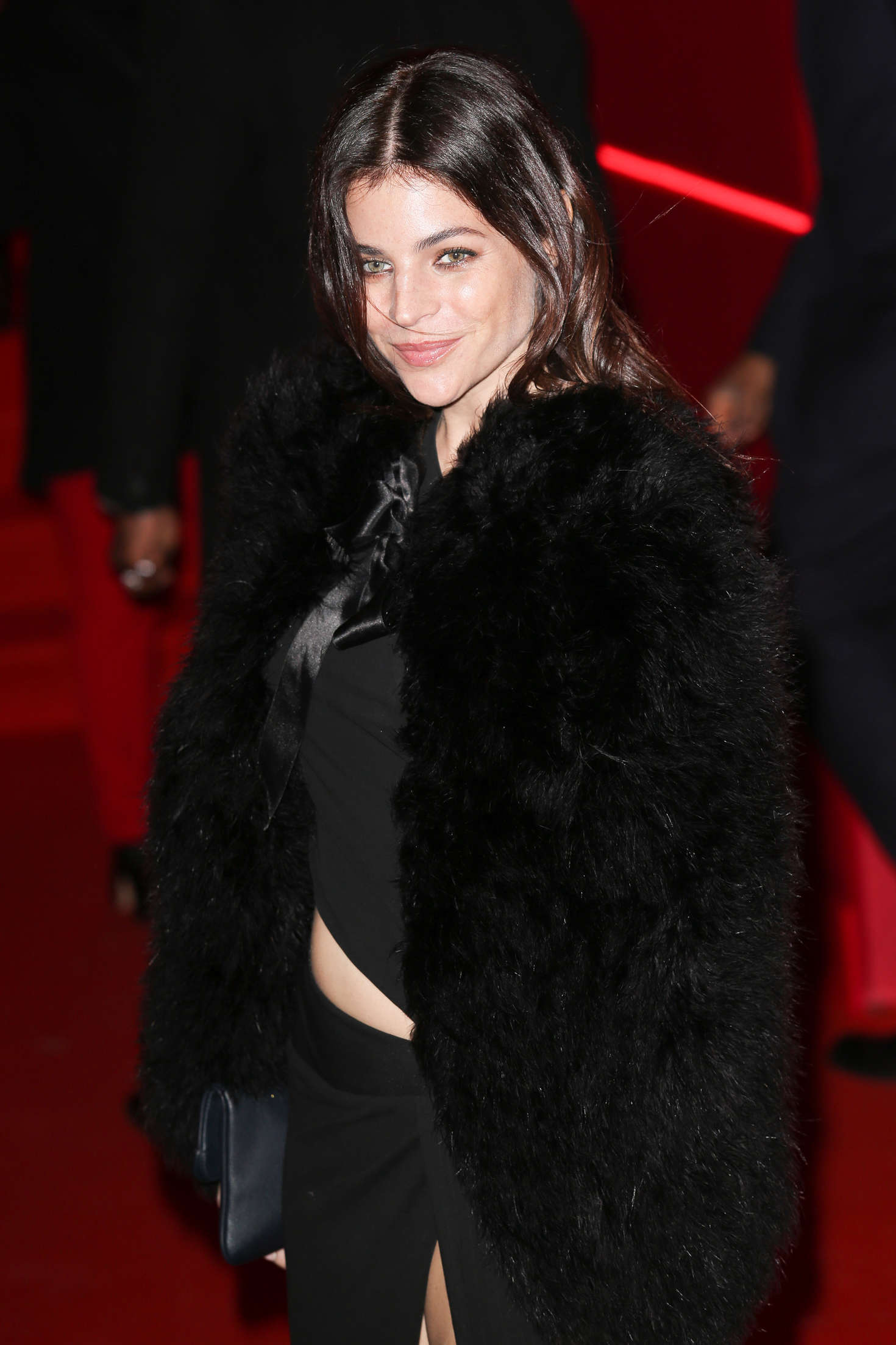 Julia Restoin Roitfeld Attends at LOreal Red Obsession Party in Paris