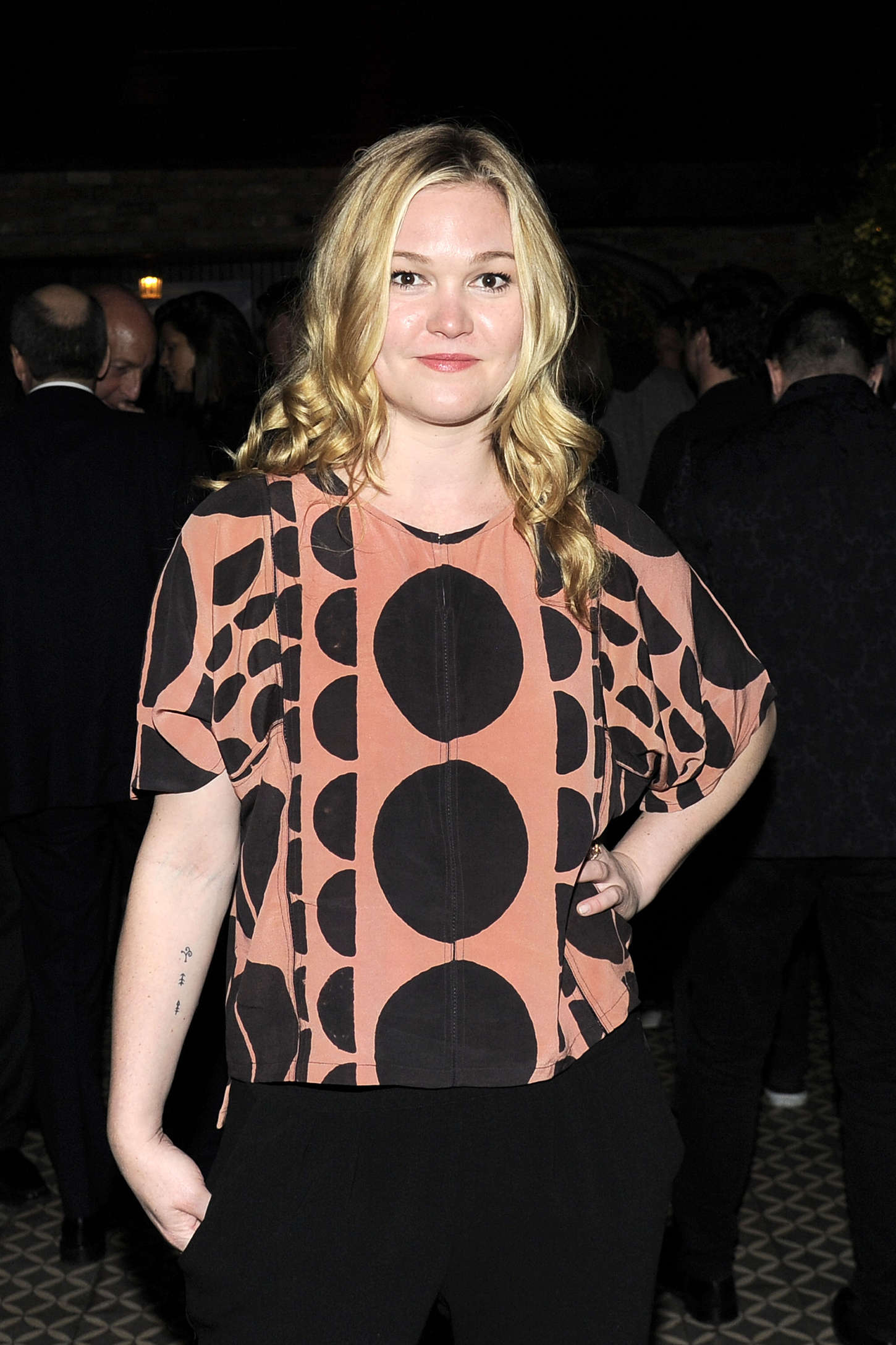 Julia Stiles HAPPYish Series Premiere in New York