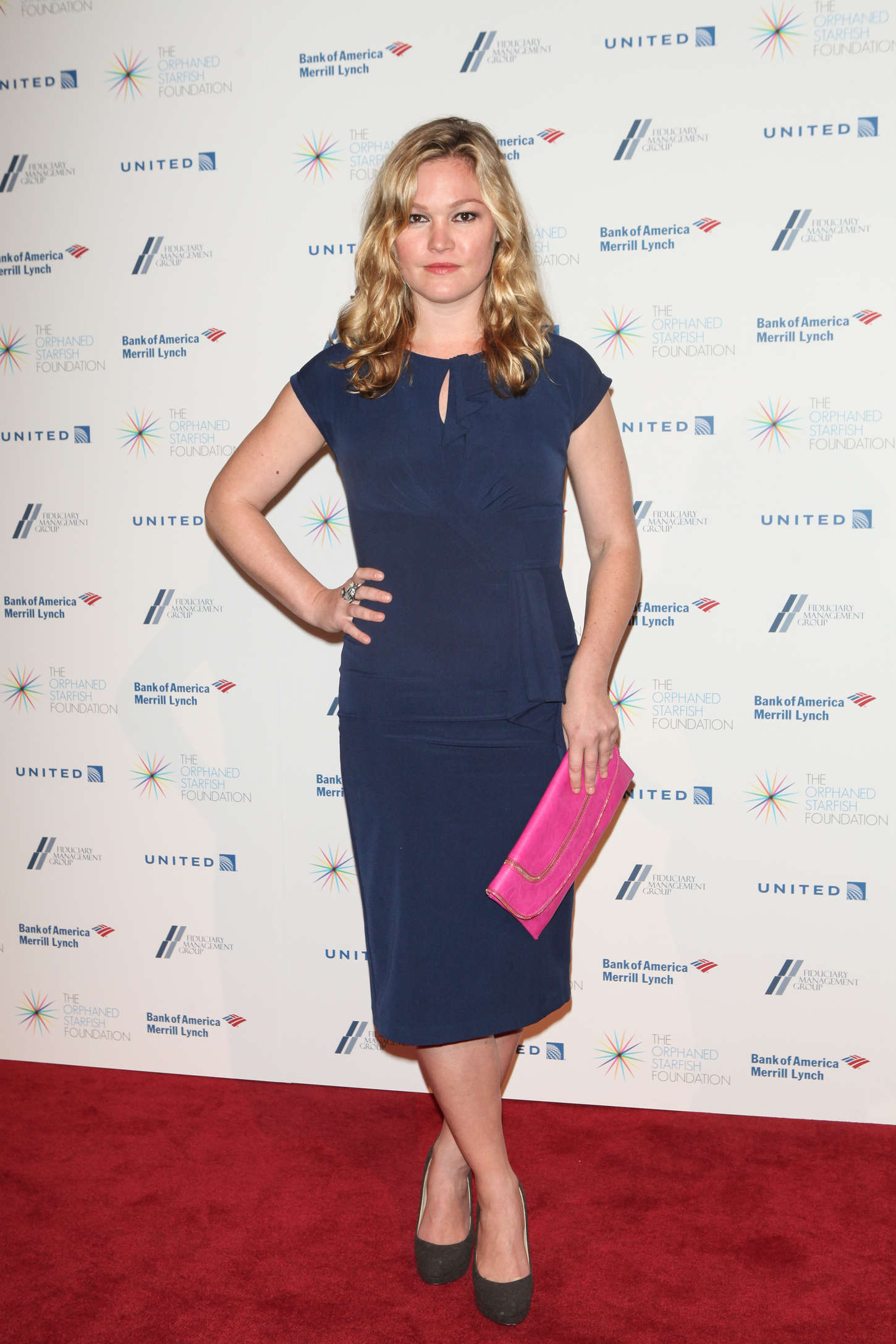 Julia Stiles Orphaned Starfish Foundation Gala in New York City
