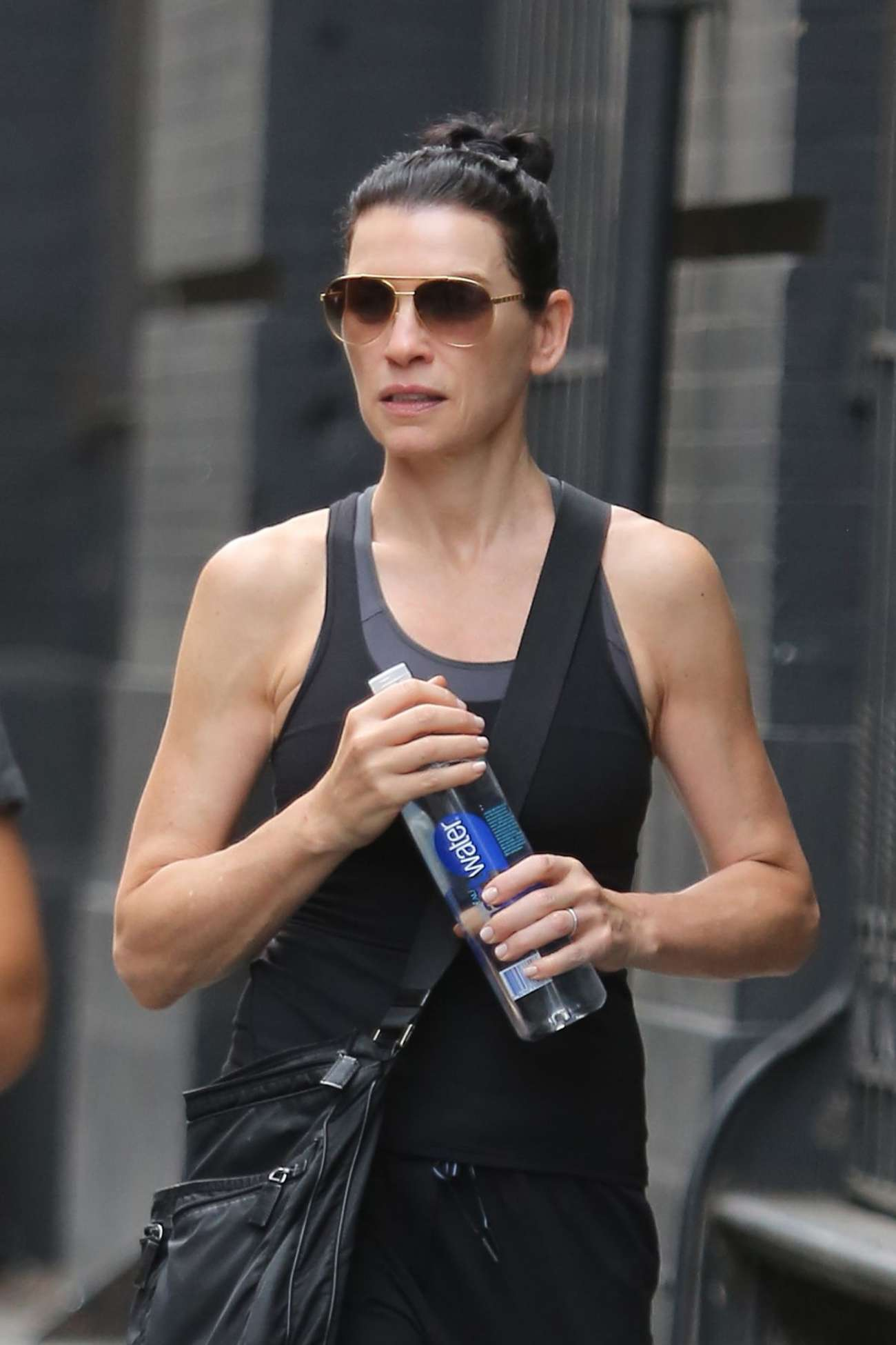 Julianna Margulies Heading to the gym in New York