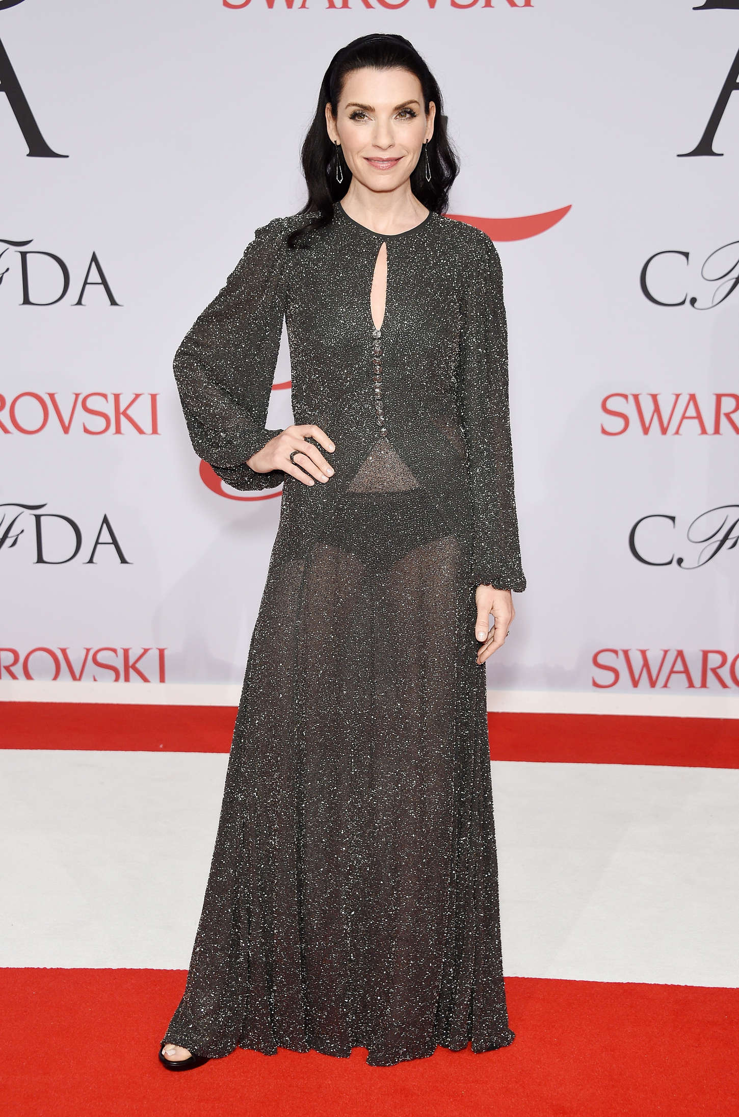 Julianna Margulies CFDA Fashion Awards in New York