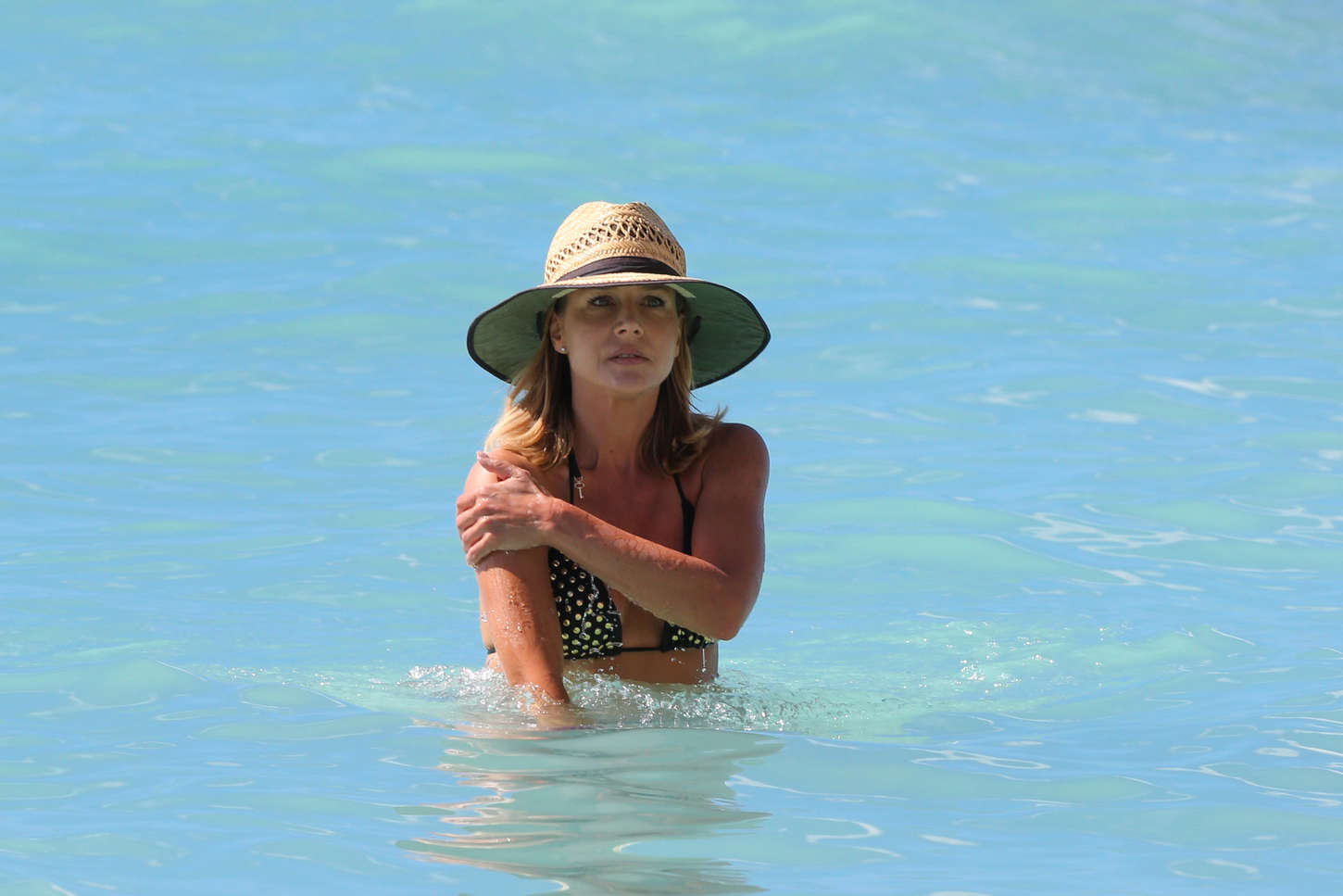 Julie Benz Bikini Candids in Hawaii
