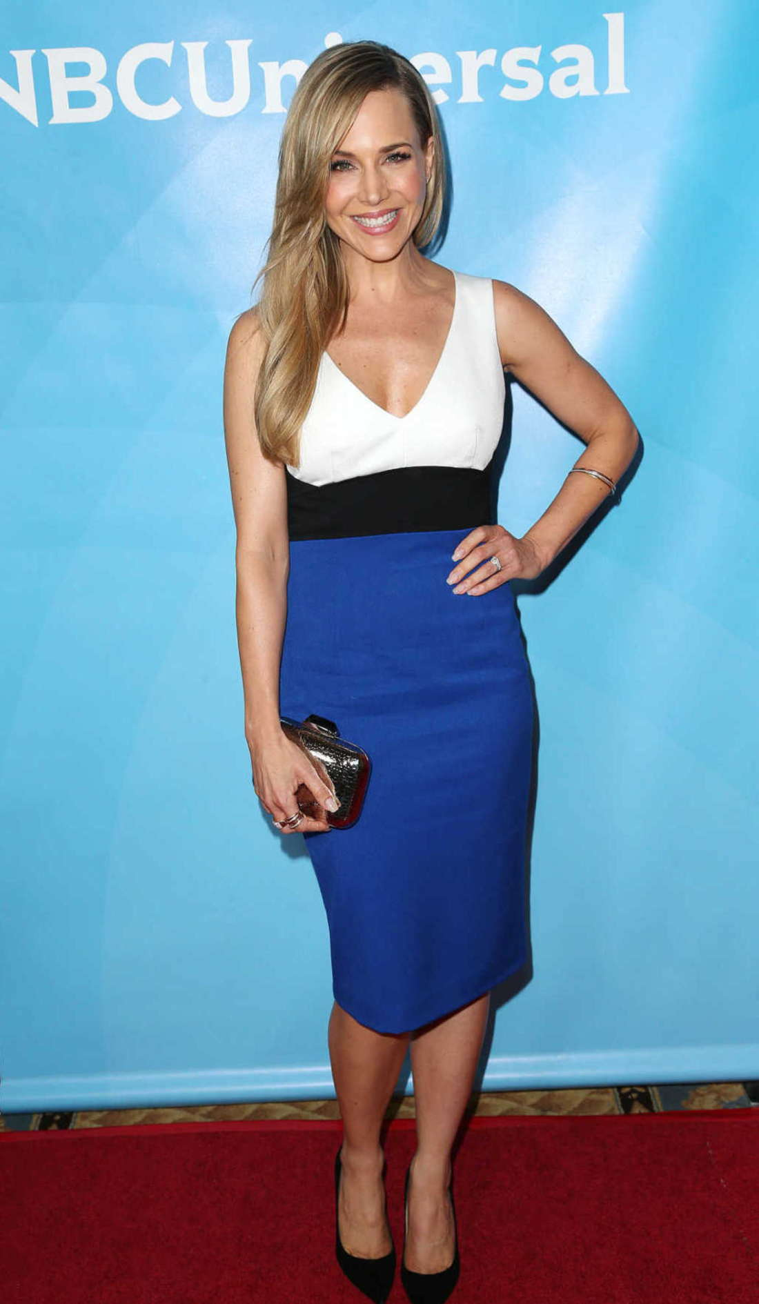 Julie Benz NBC Universal Summer Press Day in Passadena