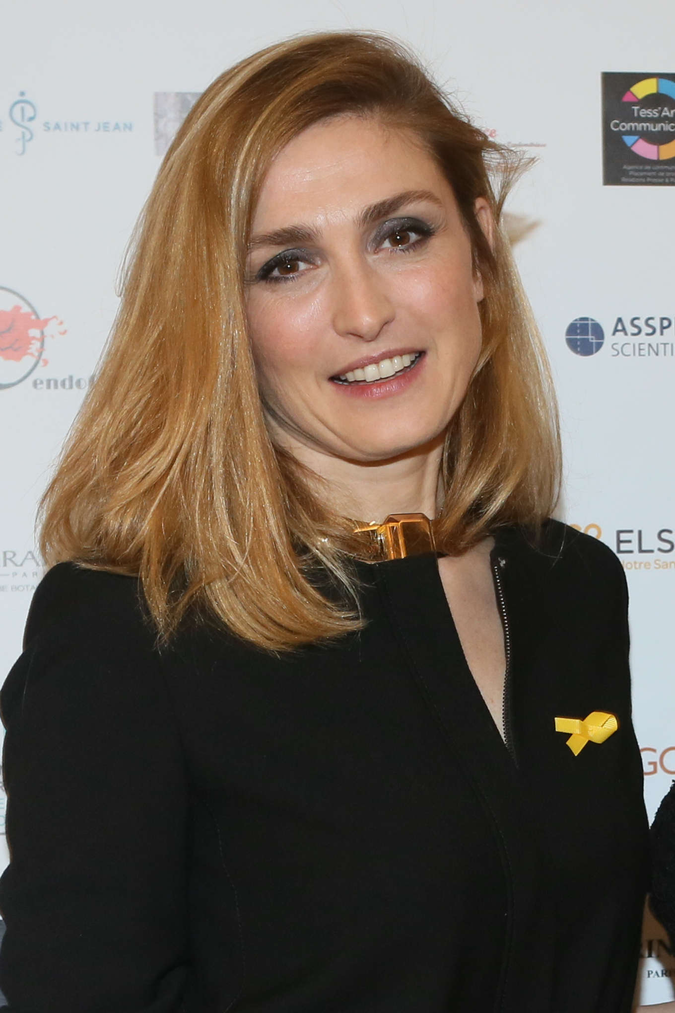 Julie Gayet Endofrance Charity Gala Photocall in Paris