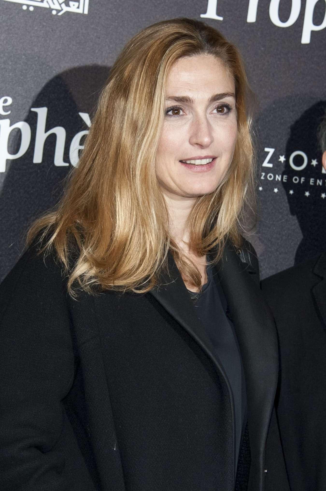 Julie Gayet Le Prophete Premiere in Paris