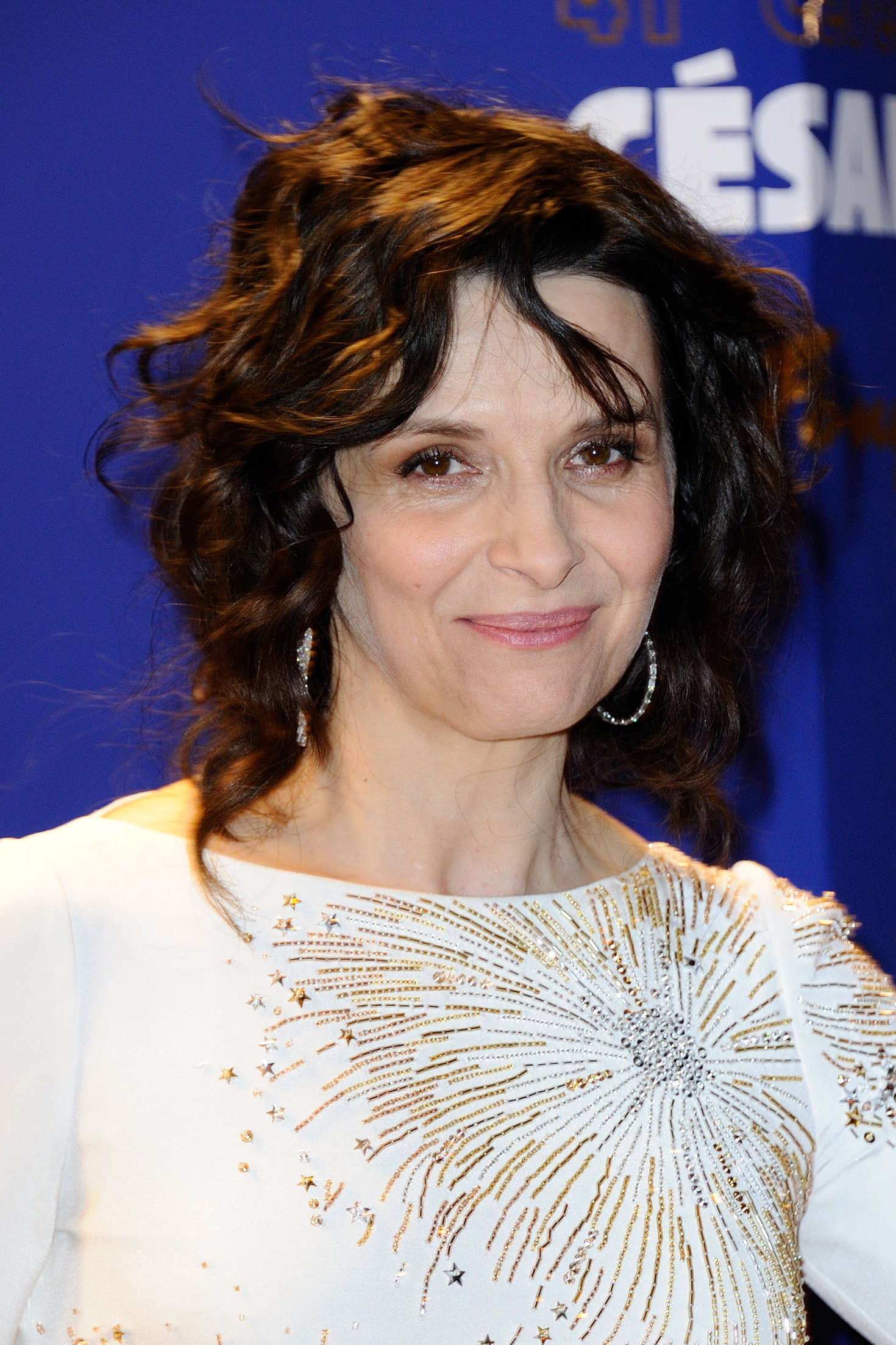 Juliette Binoche Cesar After Party Diner in Paris