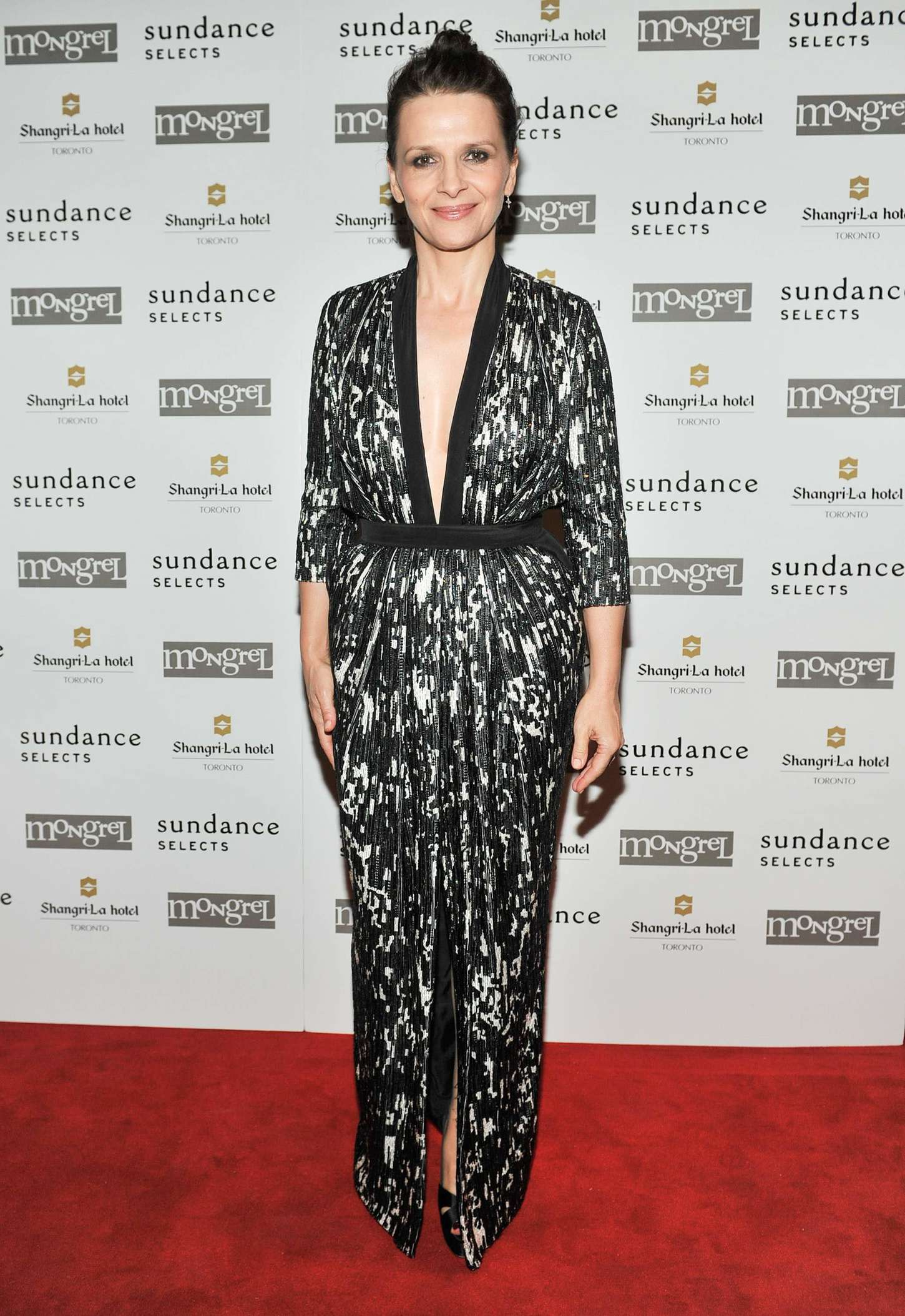 Juliette Binoche Clouds of Sils Maria TIFF Premiere in Toronto