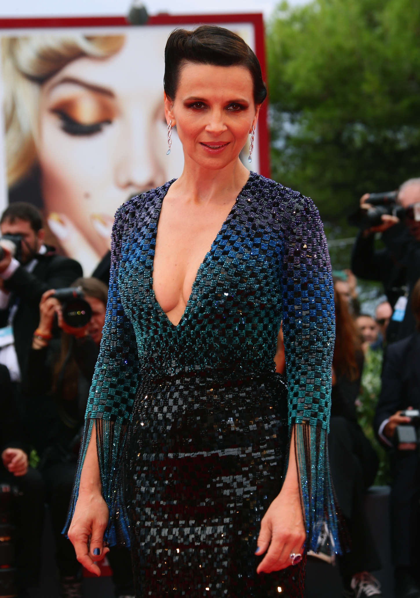 Juliette Binoche The Wait Premiere in Venice